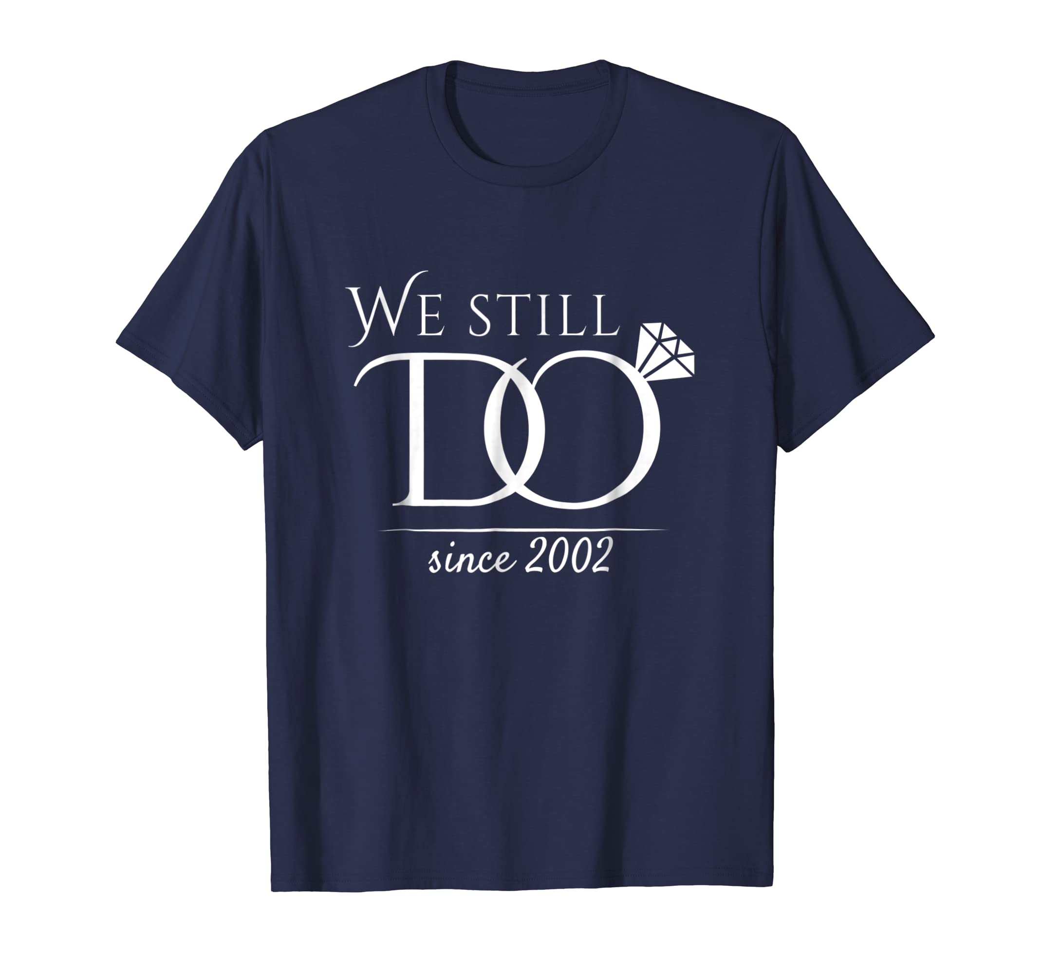 16th Wedding Anniversary T Shirt Funny For Married In 2002 W-Teesml