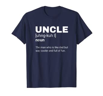 457b70a1 Image Unavailable. Image not available for. Color: Uncle Definition shirt  with funny ...