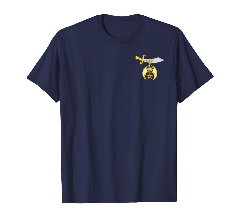 Shriners Masonic Logo Symbol T Shirt, Tee