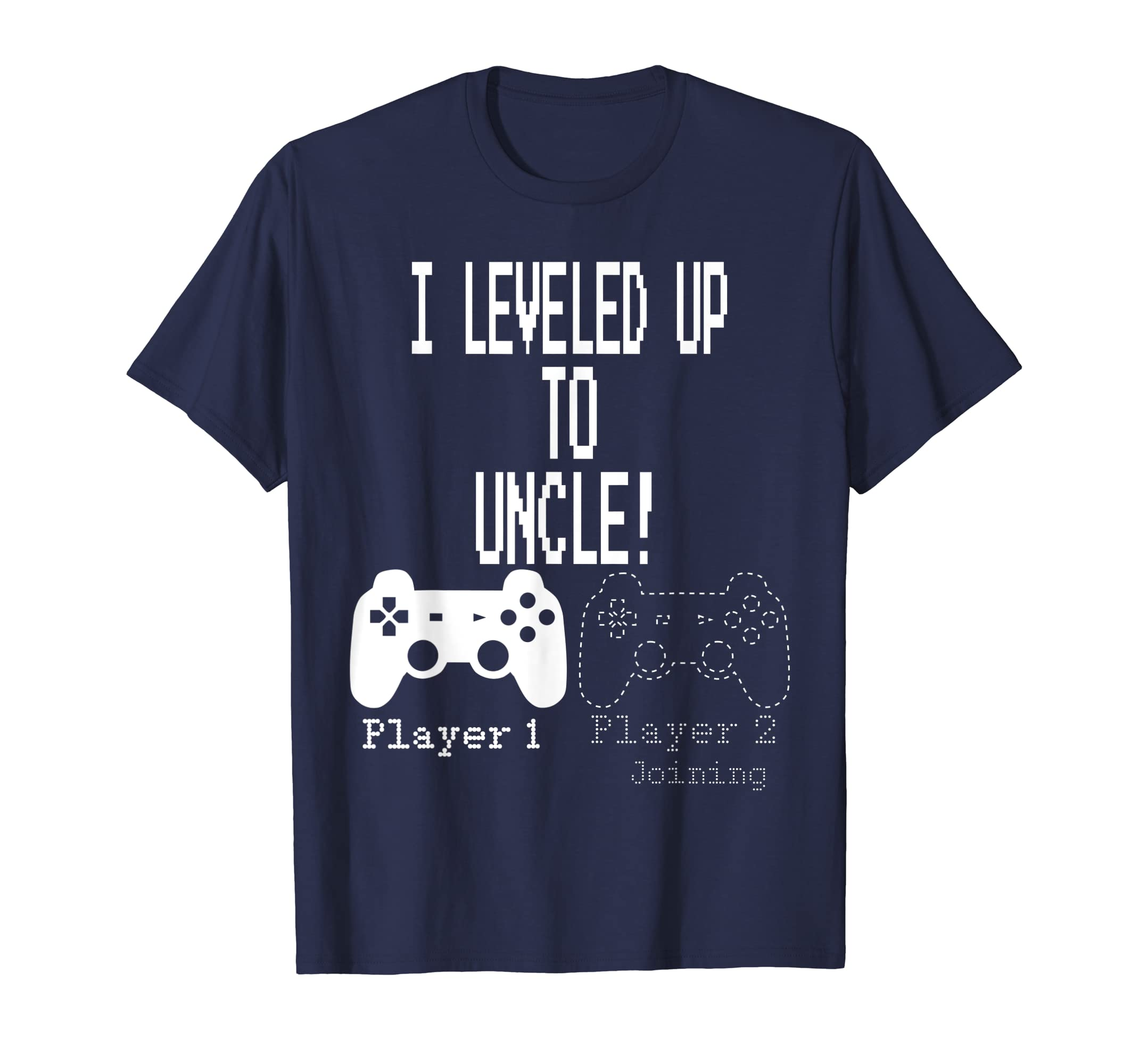 I leveled up to Uncle, new uncle gaming T Shirt-Yolotee