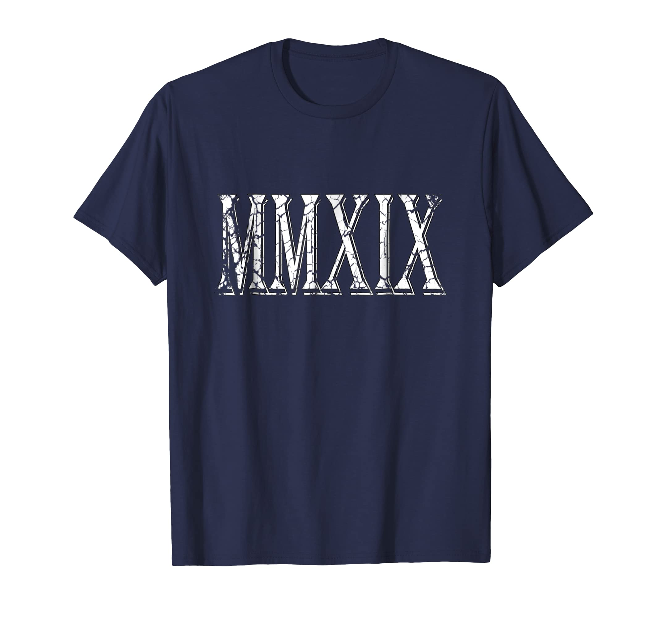 2019 MMXIX in Roman Numerals New Year TShirt-azvn