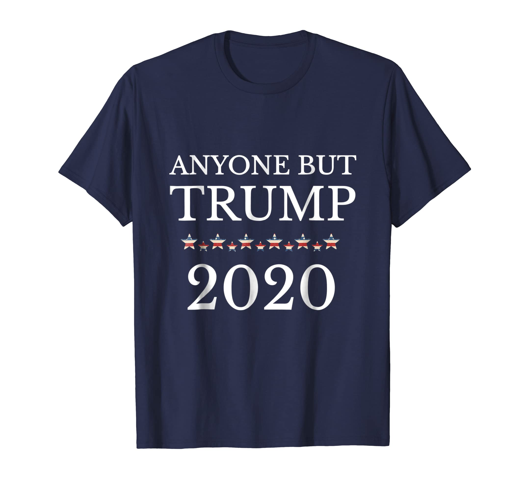Anyone But Trump 2020 Funny Political Campaign T shirt Gift-azvn