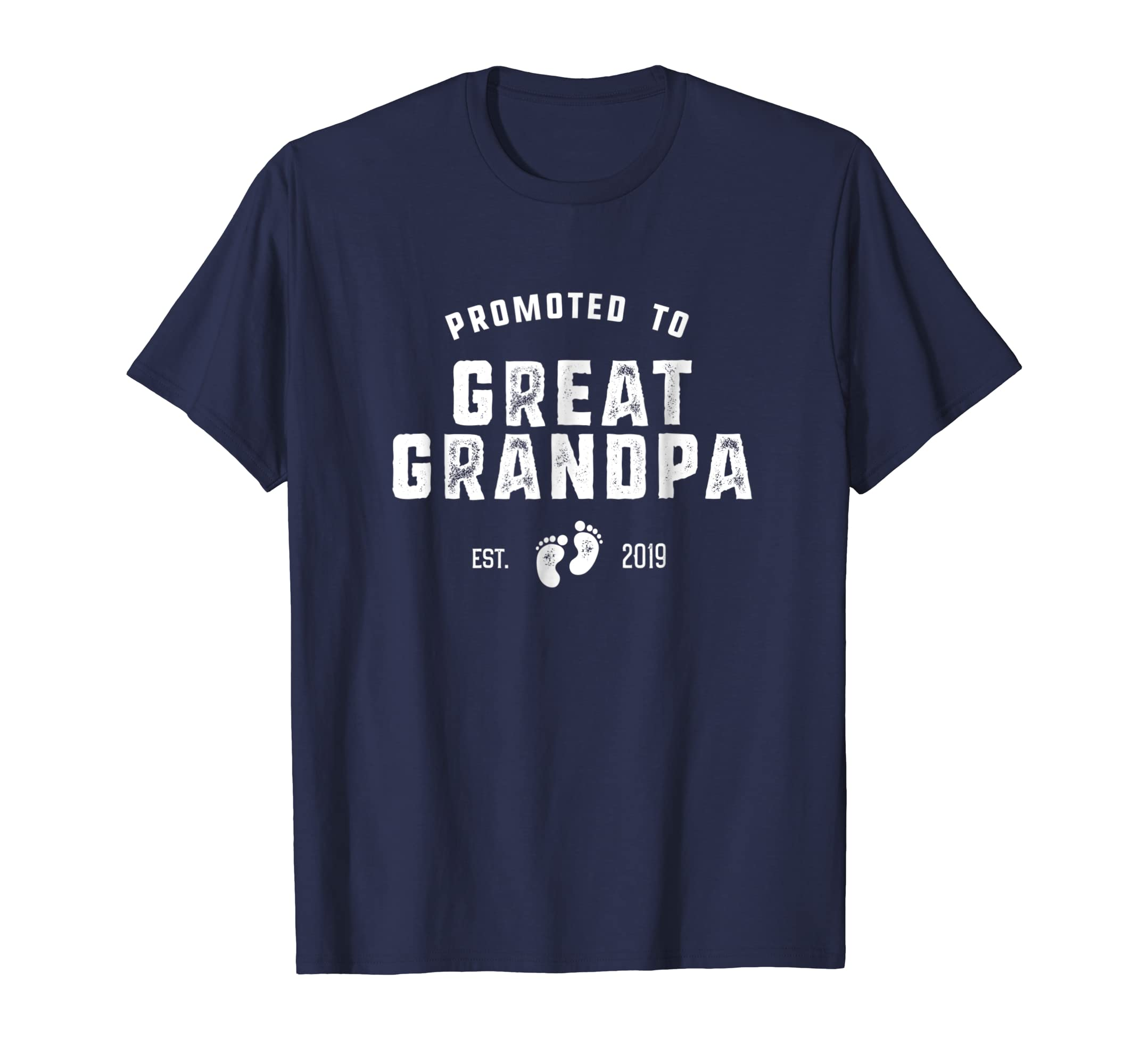 44f43f81 Amazon.com: Promoted to Great Grandpa Pregnancy Announcement Shirt: Clothing