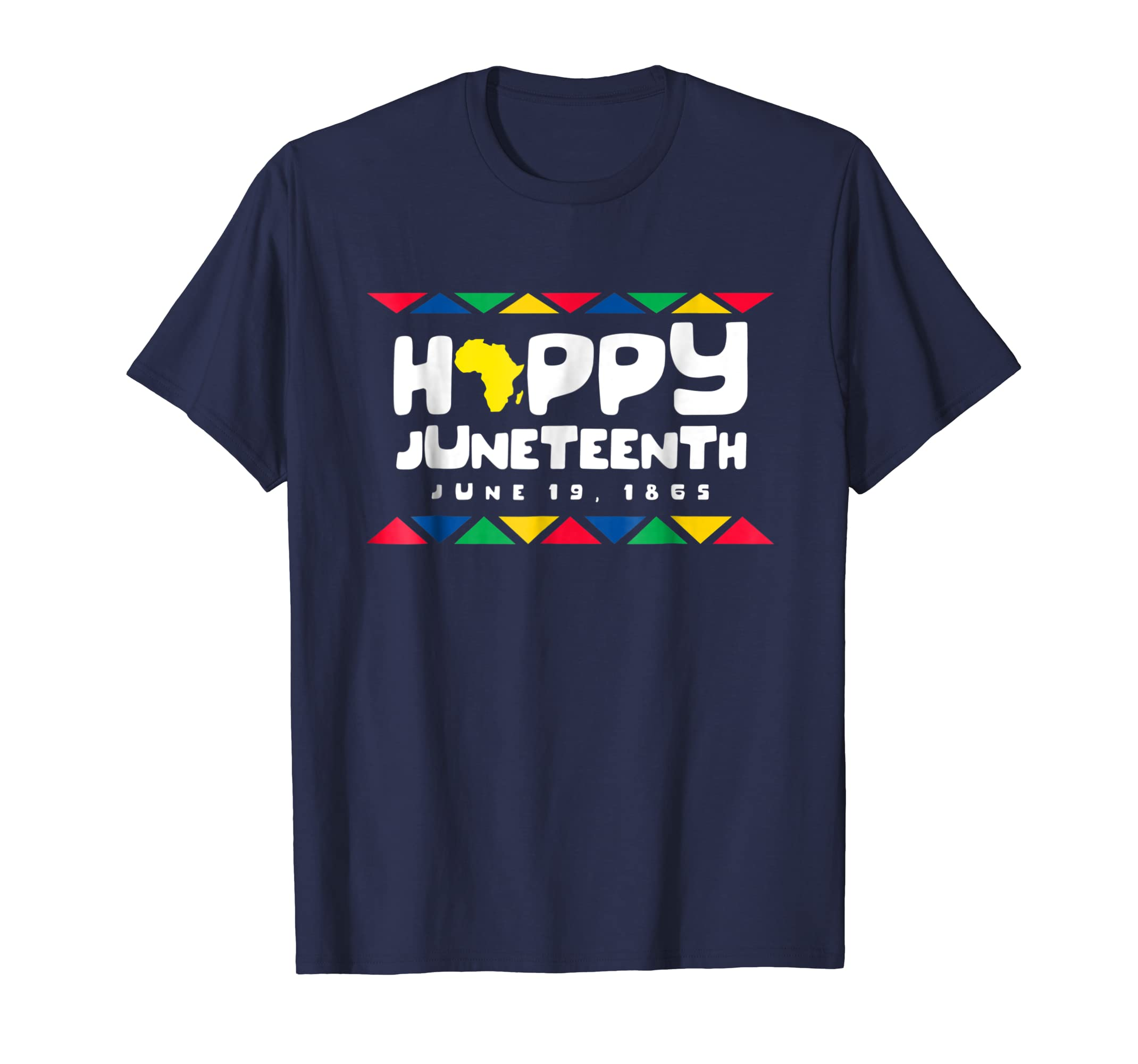 Happy Juneteenth Shirt Emancipation Day and Freedom Day 2018-SFL