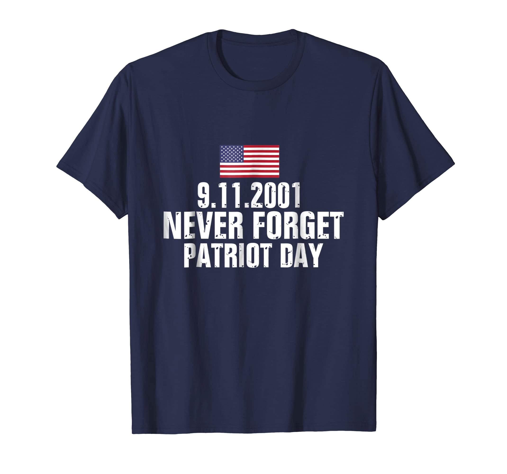 9/11 Never Forget American Flag Patriot Day T-Shirt-anz