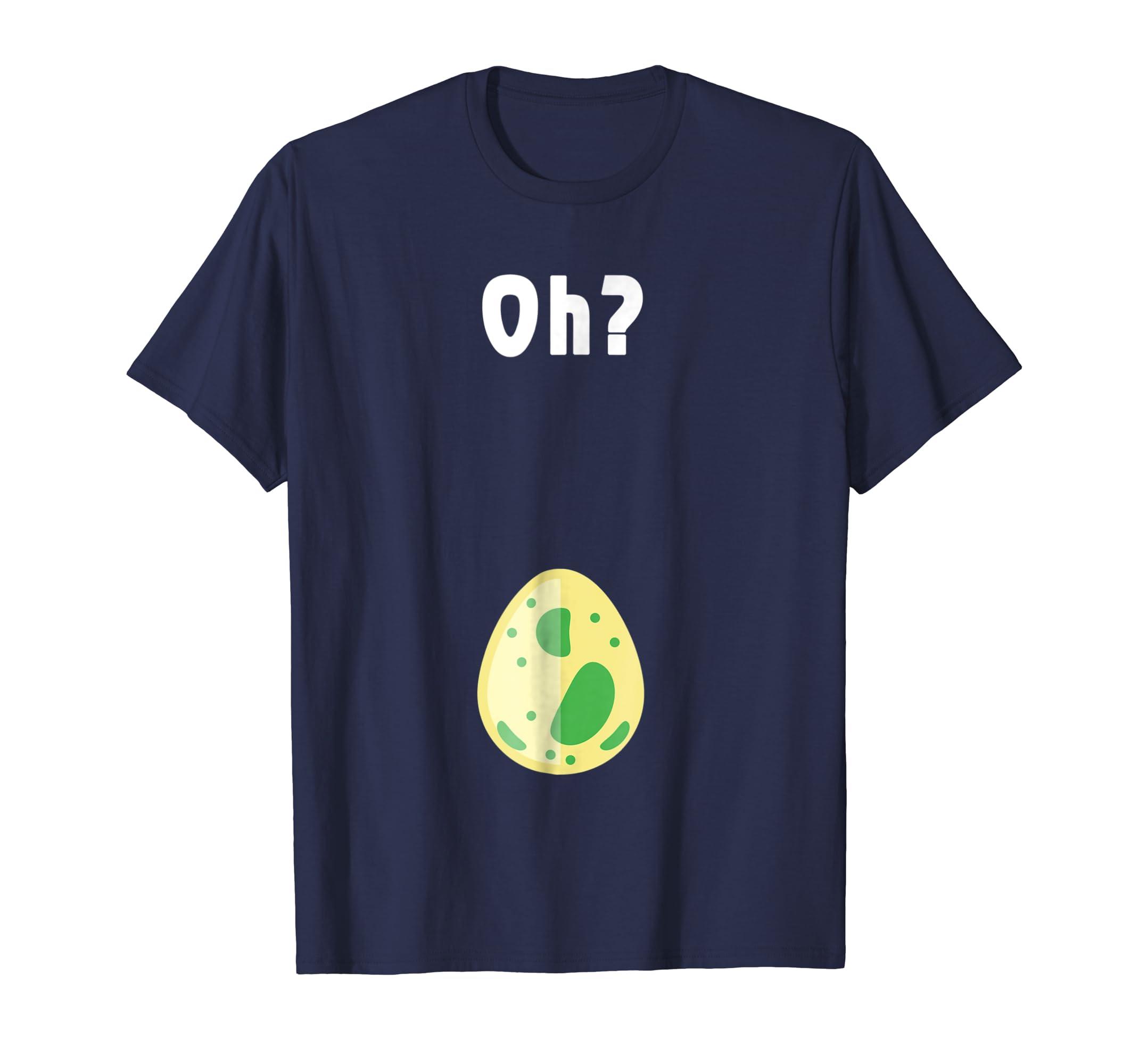 Gamer Hatching Egg Oh? Pregnant Women Funny T Shirt-Awarplus