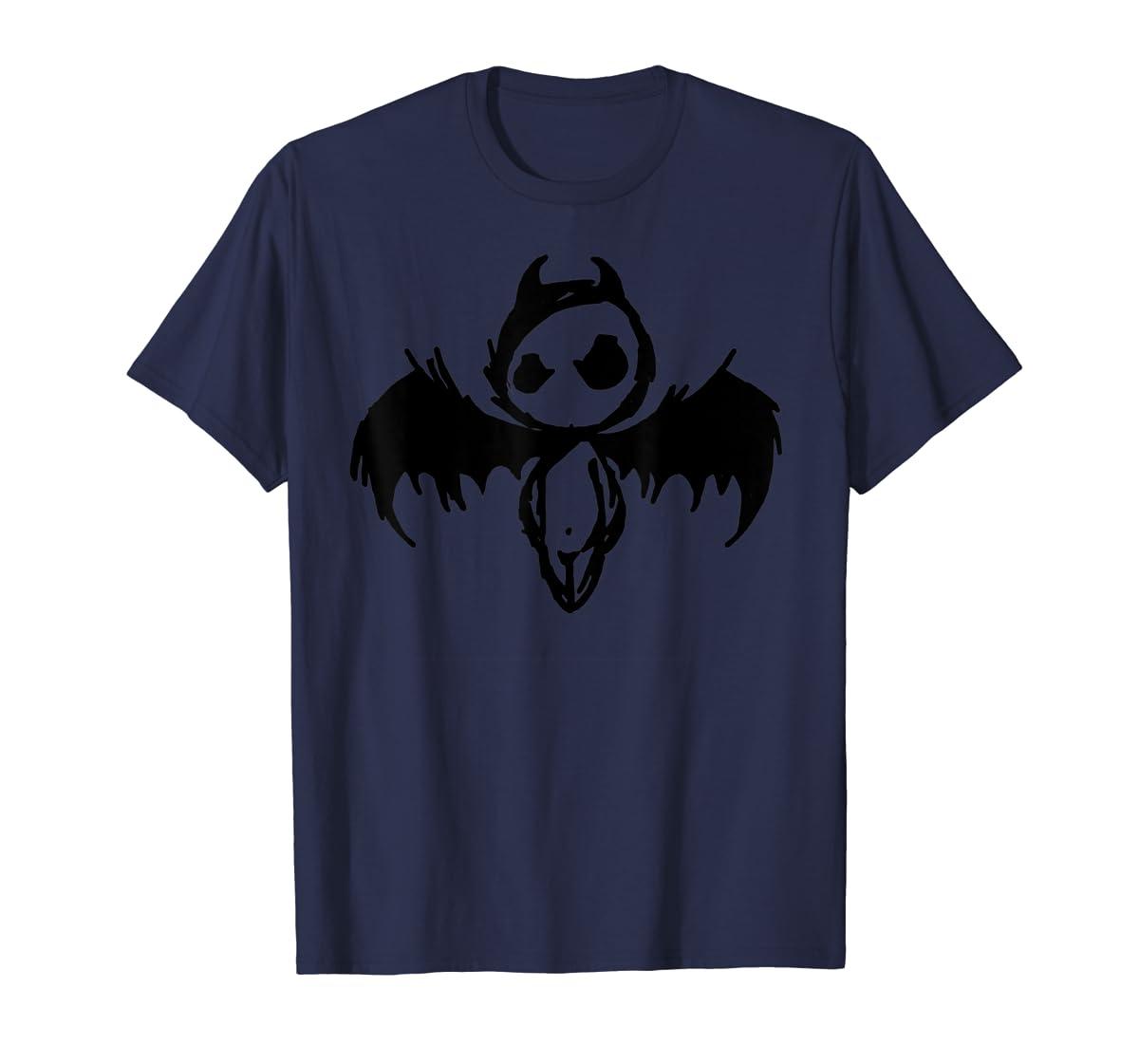 Cute Demon Vintage Couple Matching Halloween Party Costume  T-Shirt-Men's T-Shirt-Navy