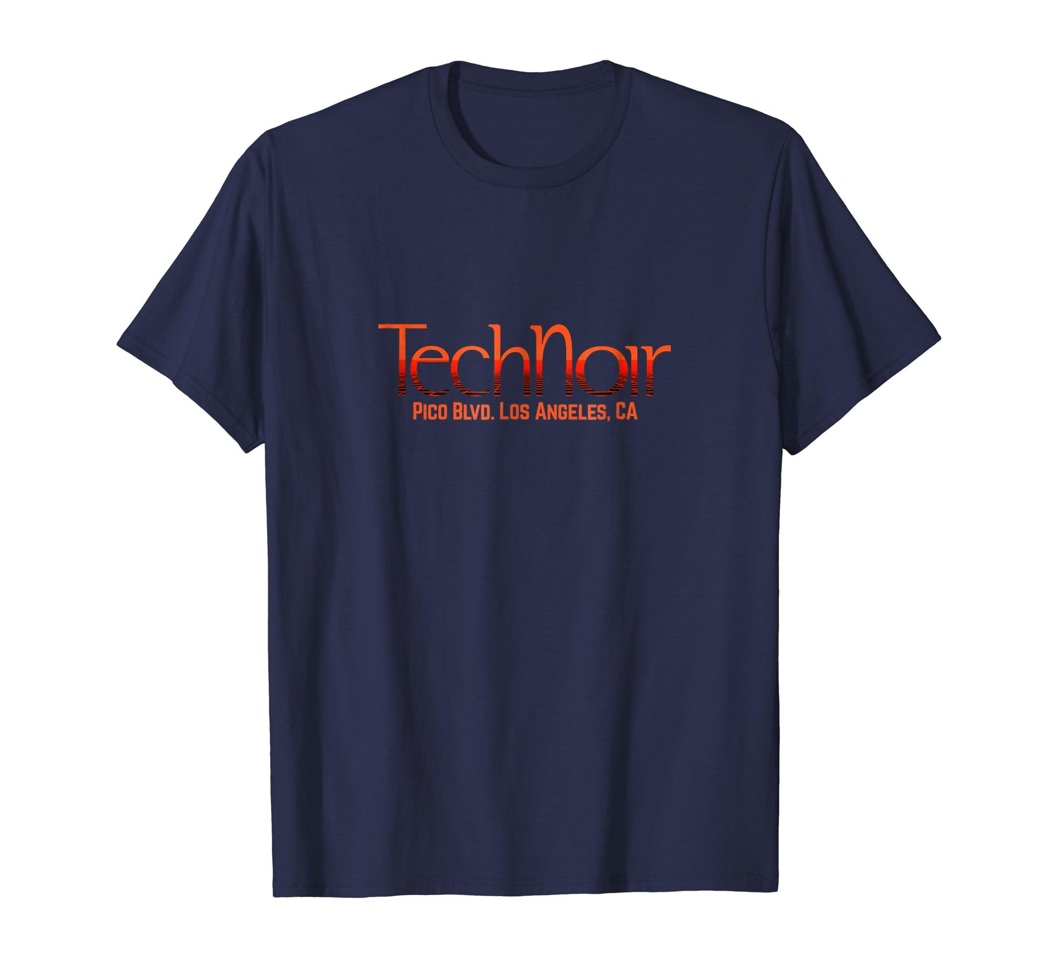 Tech Noir Classic 80's Movie T Shirt-azvn
