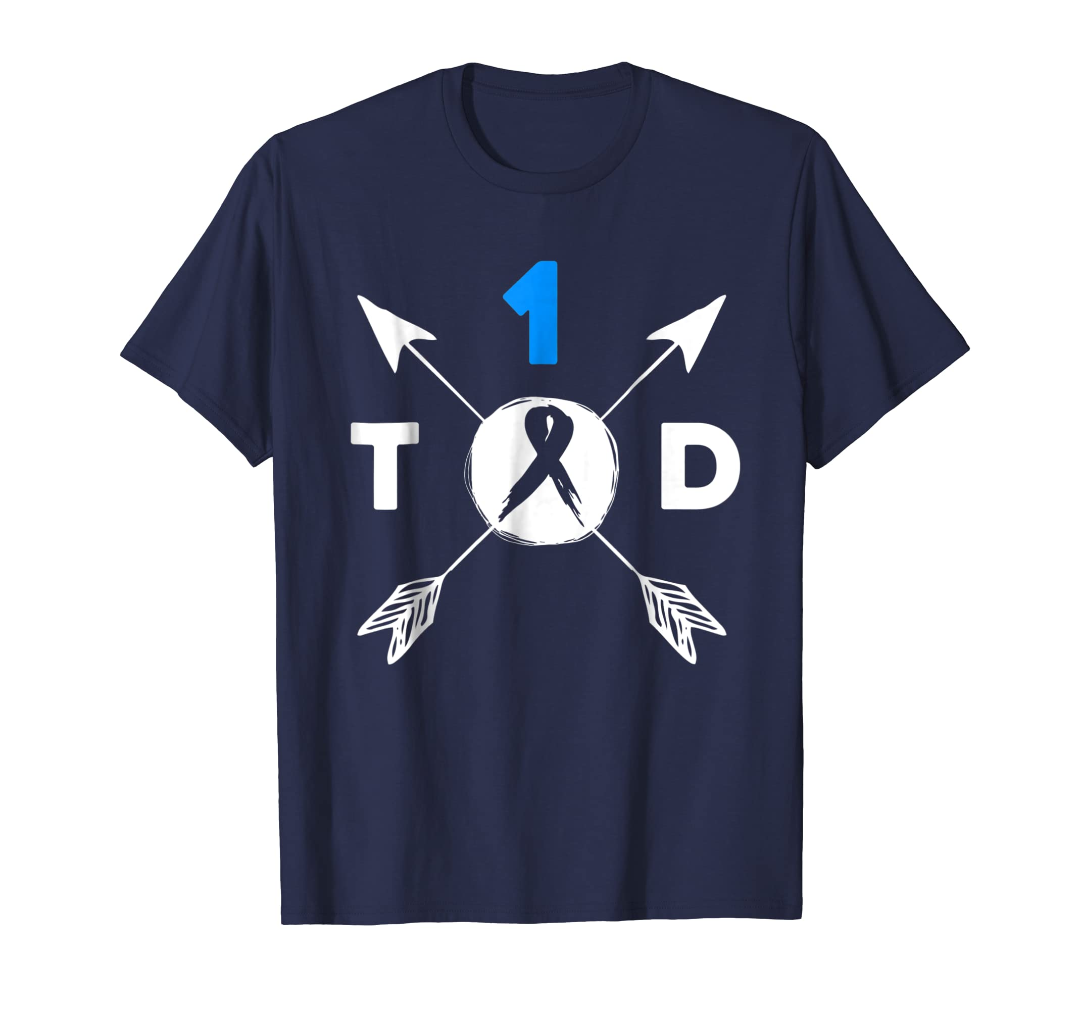 Type 1 Diabetes Awareness T1D One Der Ful Squad T Shirt-azvn
