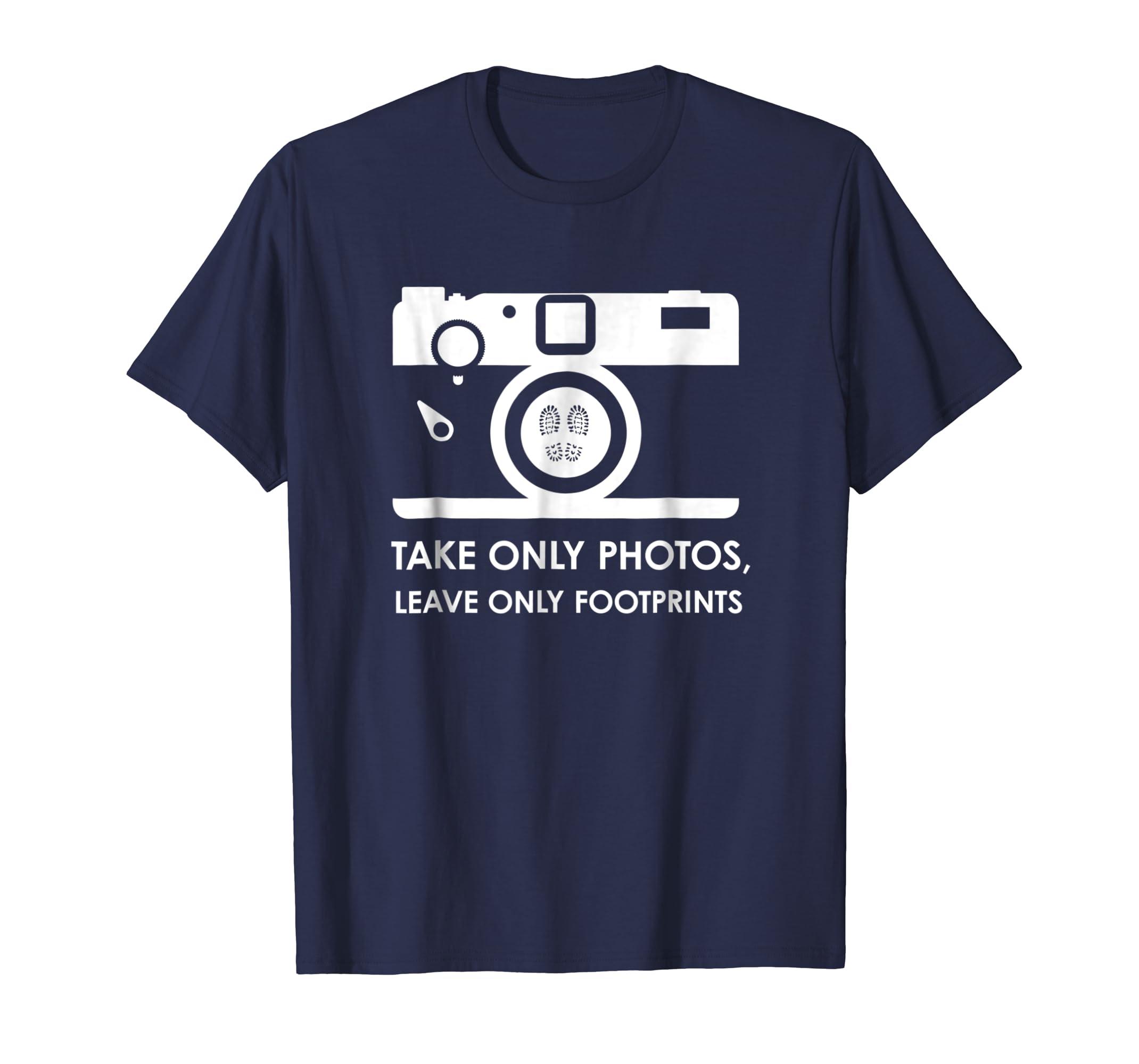 Camera Nature Lover Hiker Environmentalist T Shirt-azvn