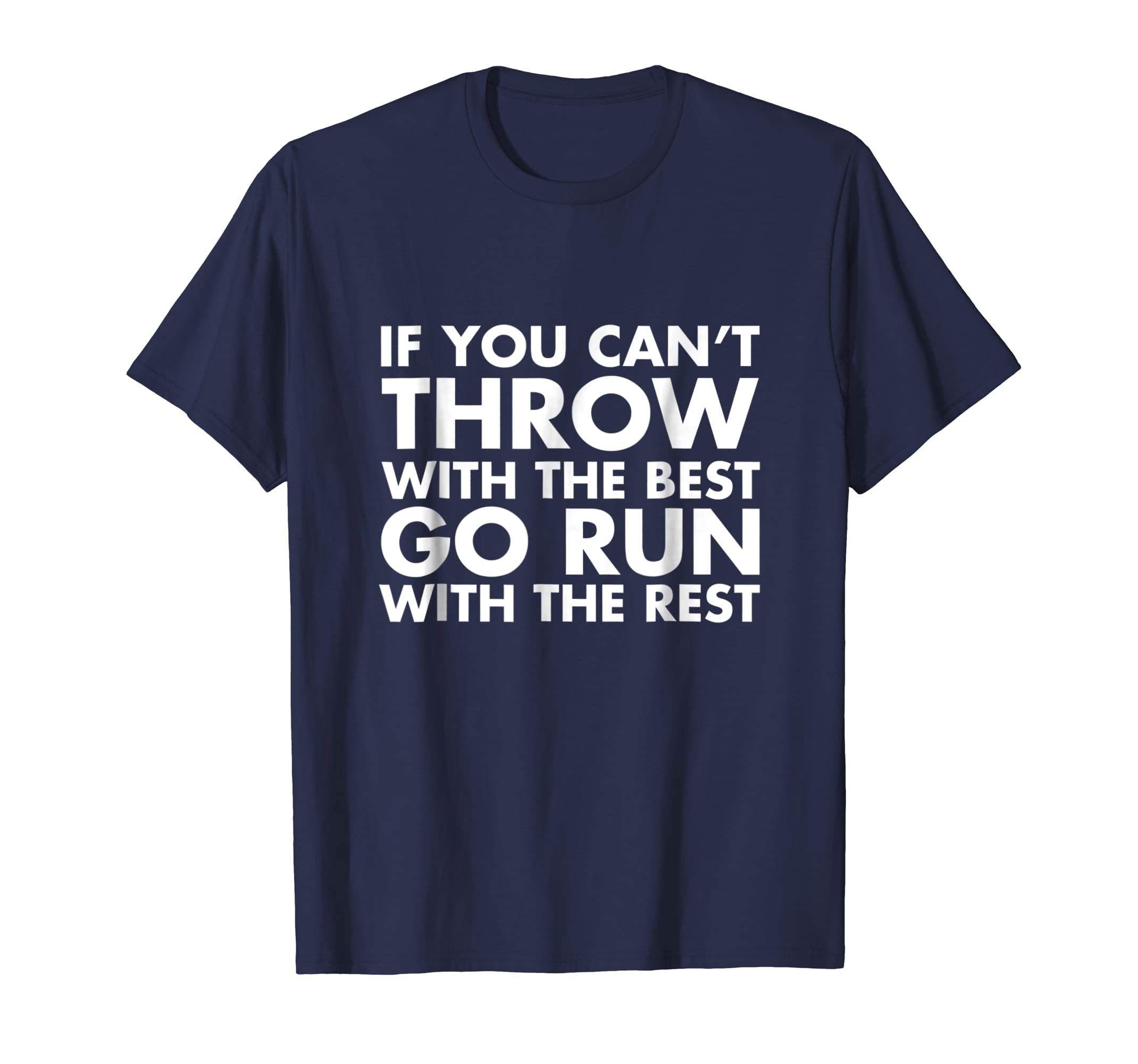 Track and Field Shot Put Discus Thrower Shirt-azvn