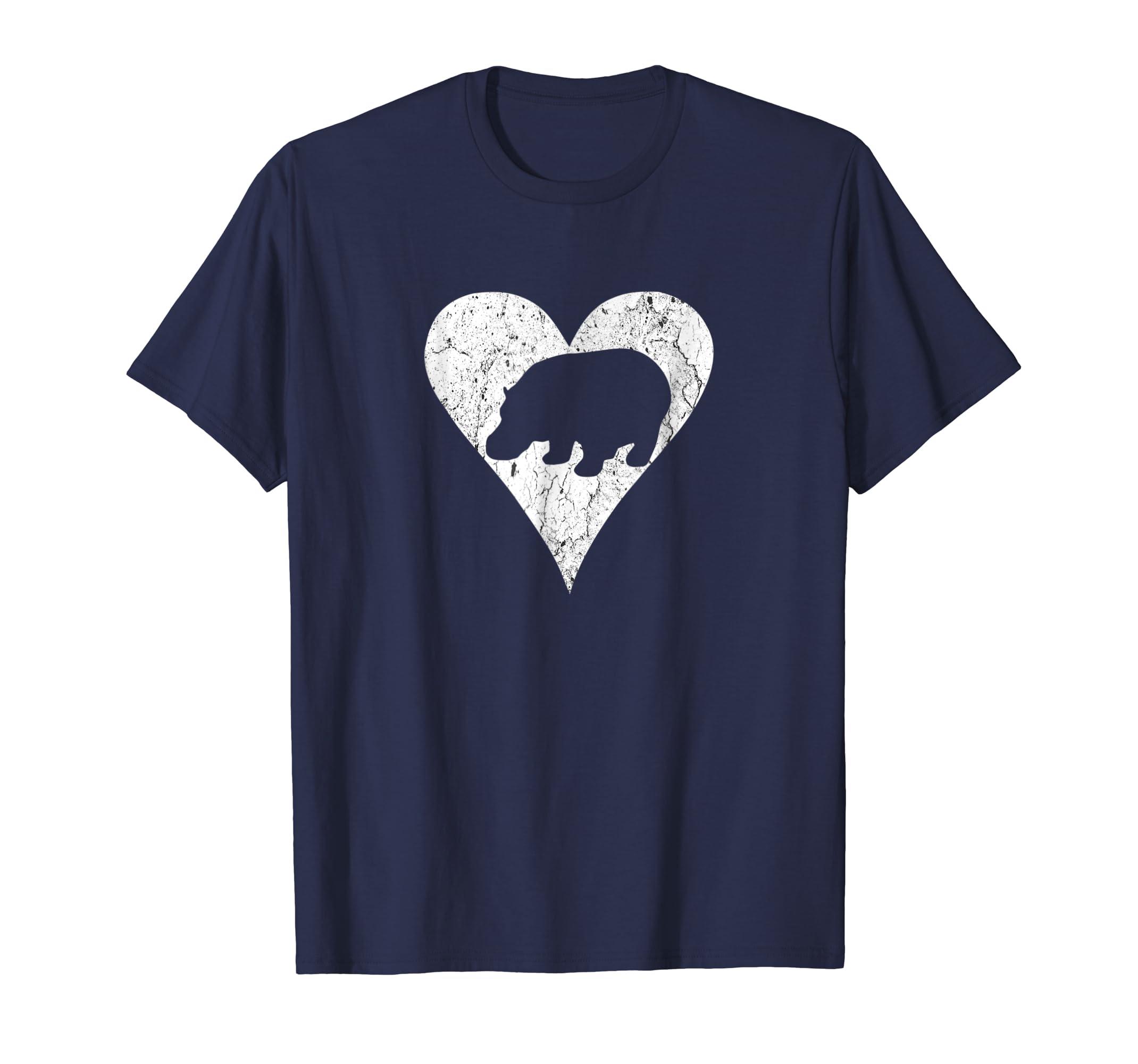 I Love a Hippopotamus Fun Man Woman Kids T-Shirt-AZP