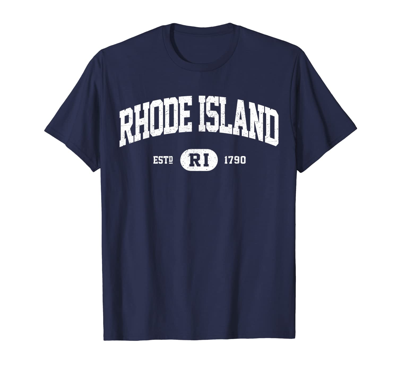 Vintage Rhode Island Shirt, Retro Classic T-Shirt RI Gifts