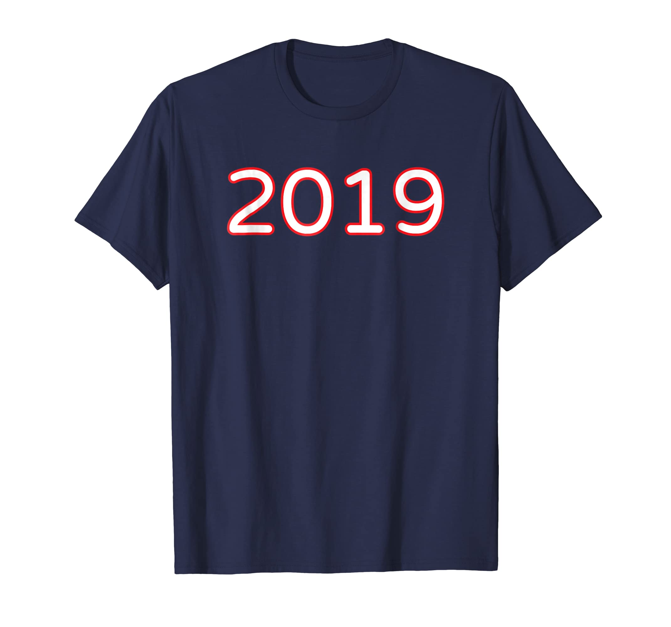 2019 T Shirt Cool Welcoming New Year 2019 Novelty Gift Tee-azvn