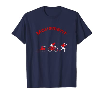 Movement athletic work out graphic motivational Tee Shirt