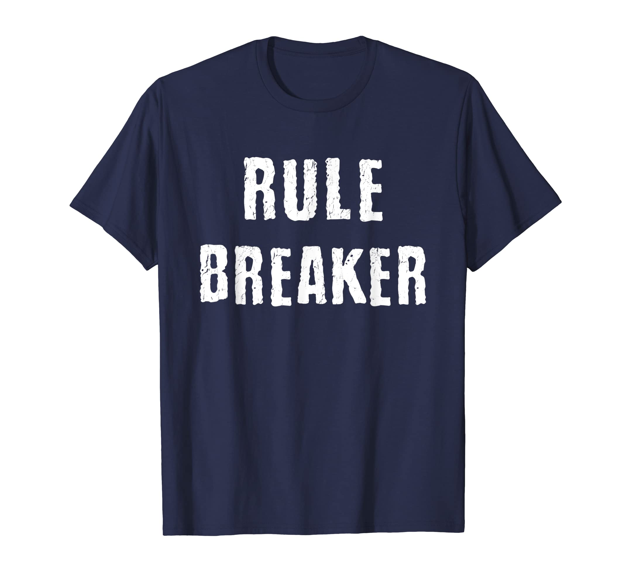 Rule Breaker Matching Father Son Mother Daughter Shirts-Teehay