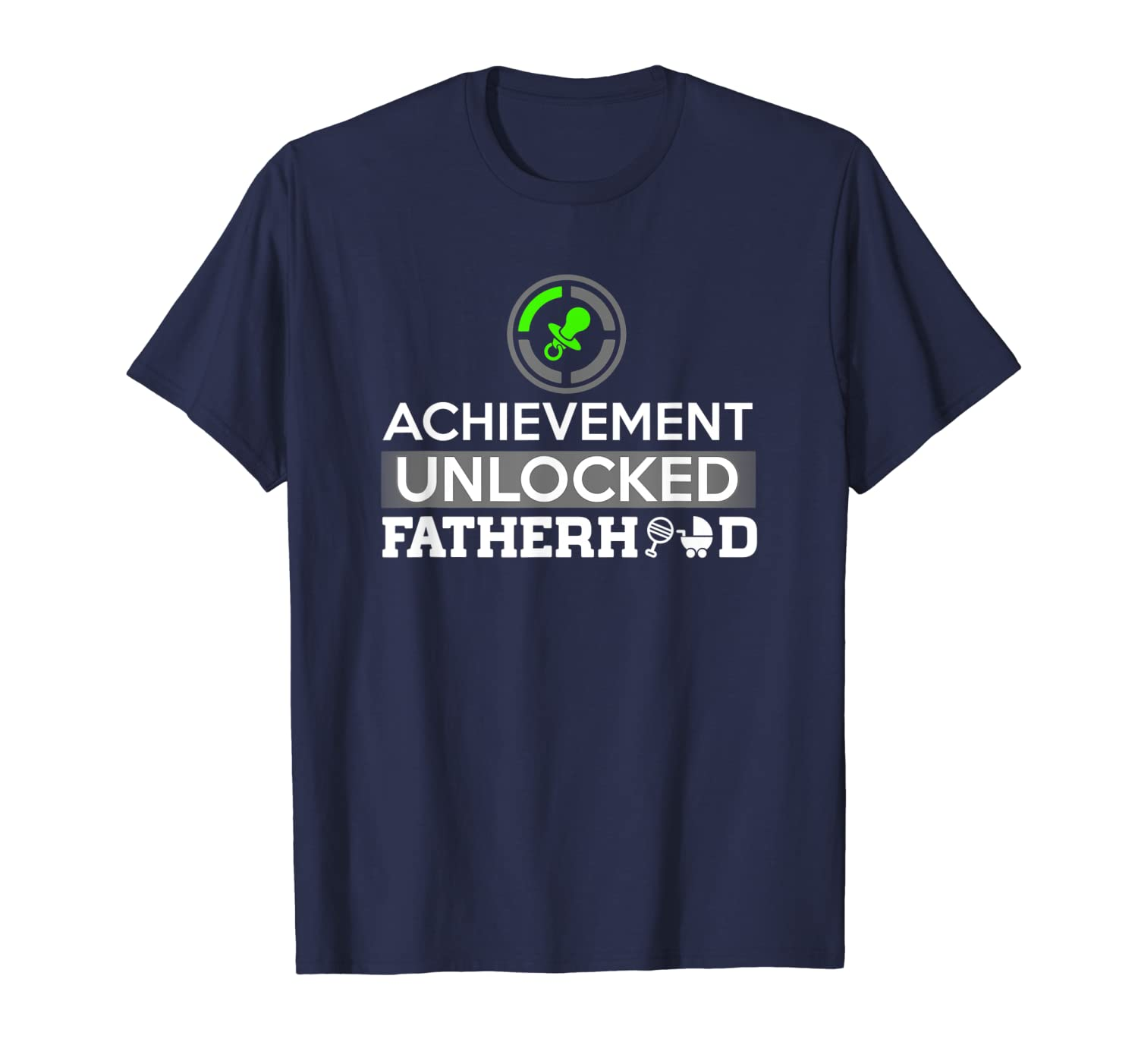 2ca3d0a2 Amazon.com: First Time Dad - Dad To Be - First Father's Day Gift Shirt:  Clothing