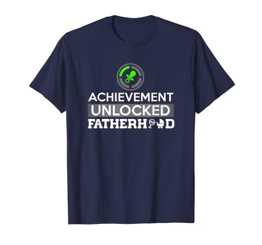 03de2c2a Image Unavailable. Image not available for. Color: First Time Dad - Dad To  Be - First Father's Day Gift Shirt