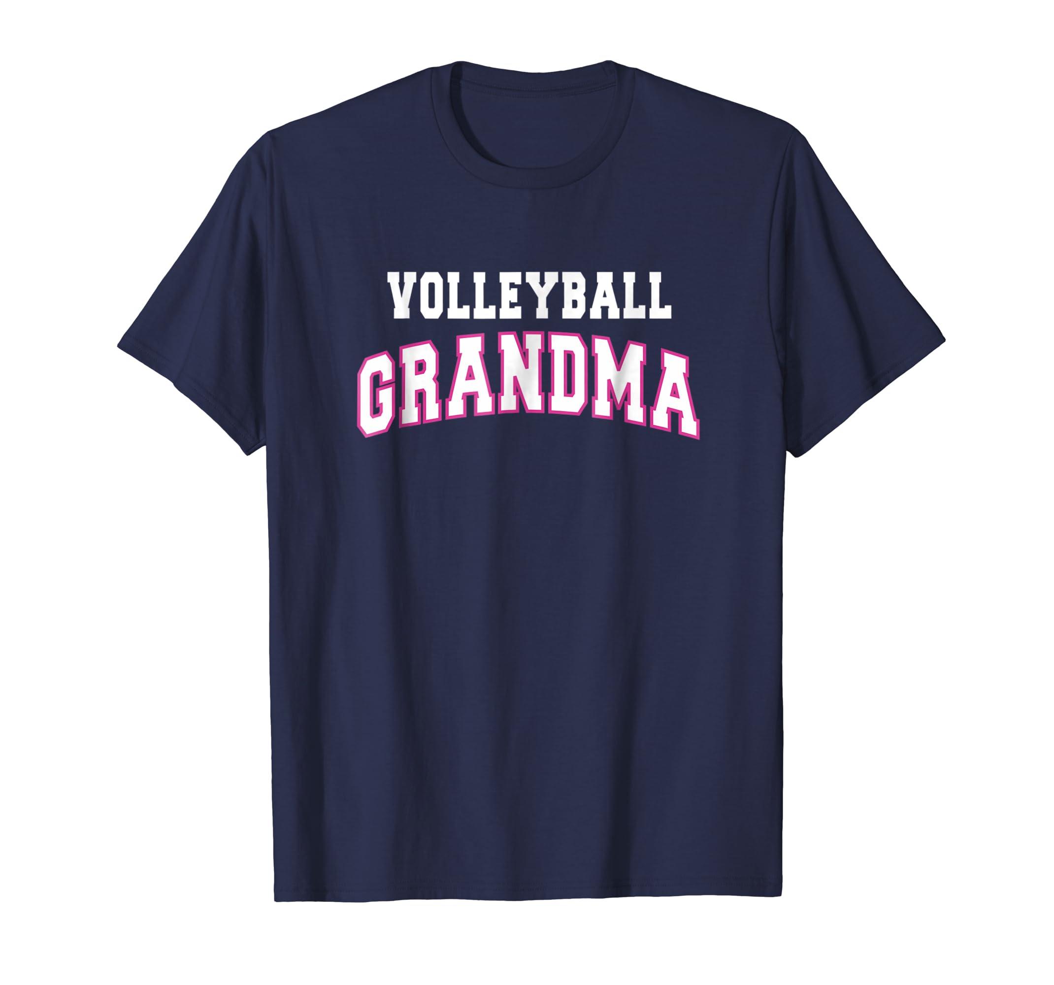 Volleyball Grandma Mothers Day Gift Idea T shirt Women-ln