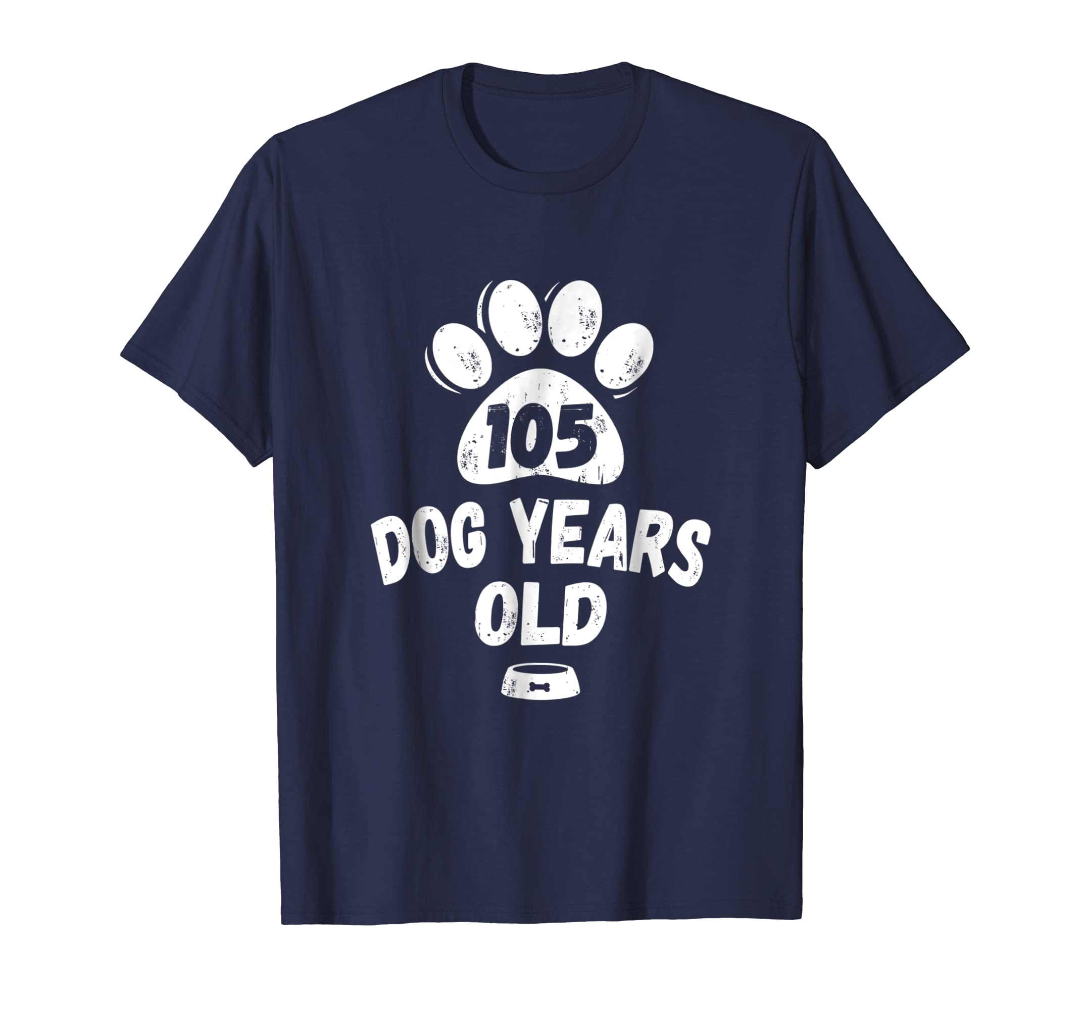 105 Dog Years Old - 15 Years Old Bday T-Shirt-AZP