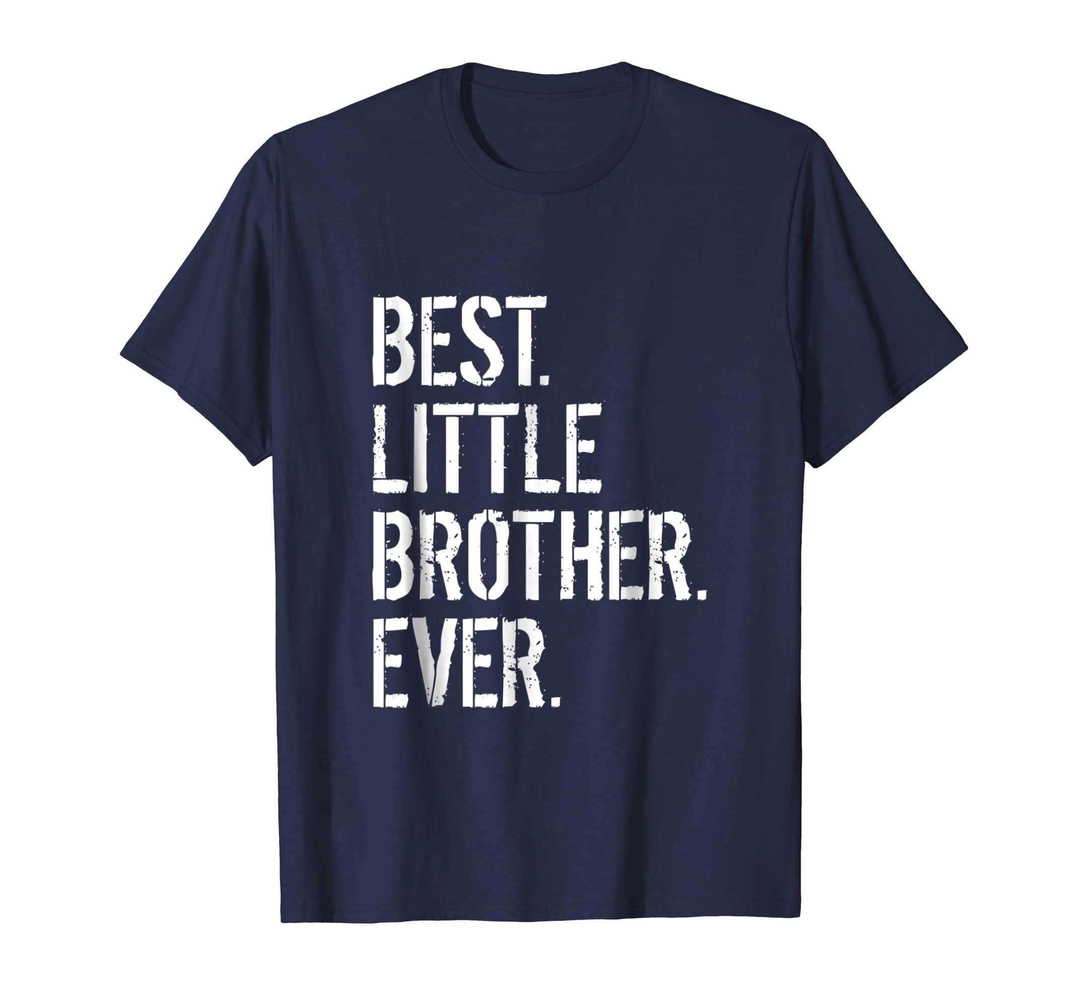 Amazon Best Little Brother Ever Birthday Gift T Shirt Clothing