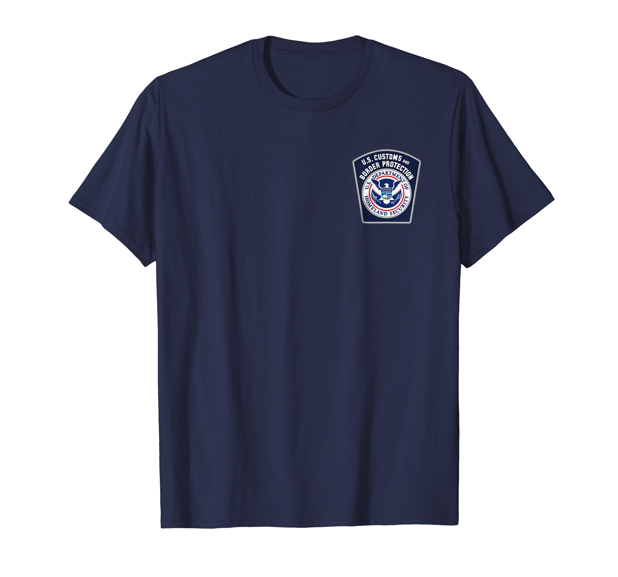 US Customs and Border Protection CBP Security Patrol T Shirt-azvn