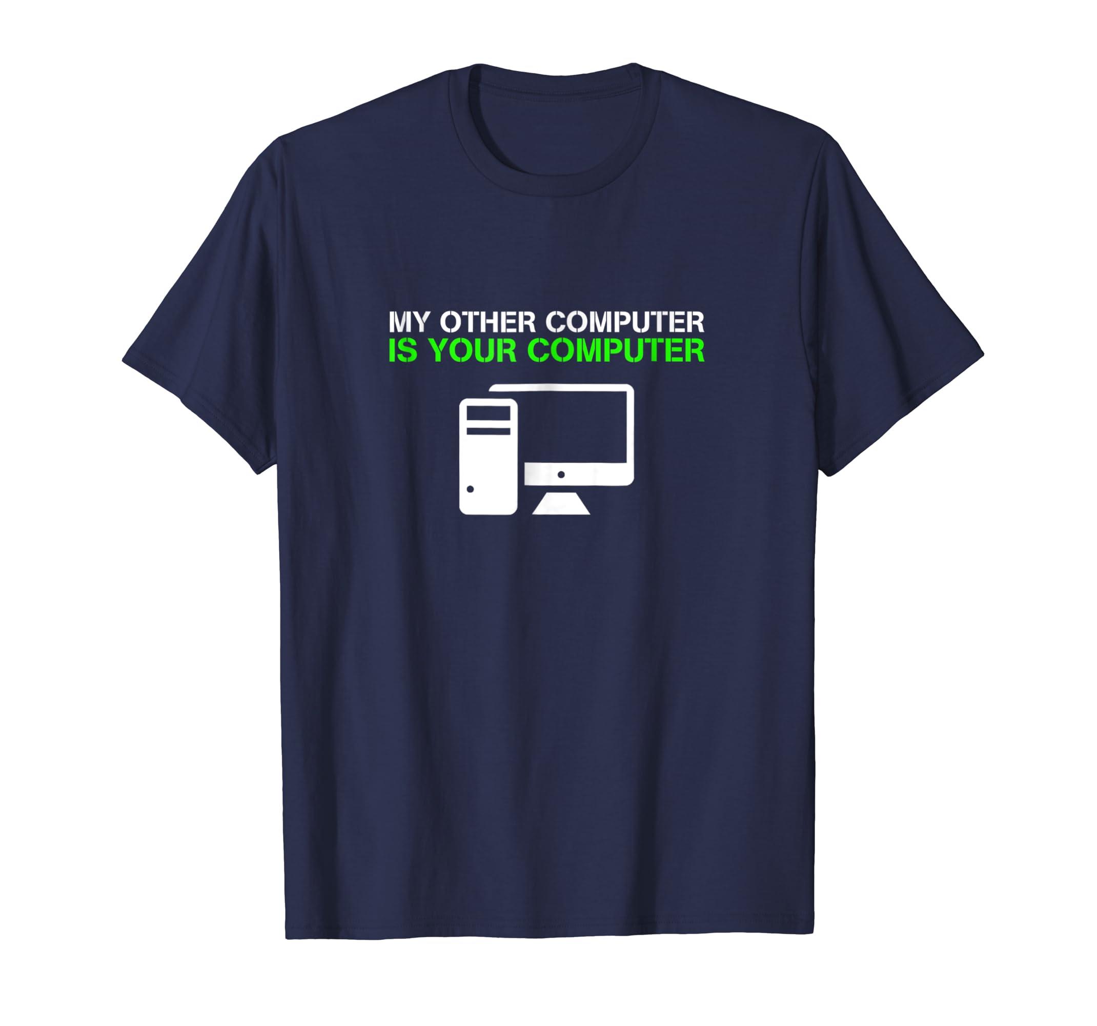 Hacker Shirt Funny Geek Nerd Coder T Shirt-mt