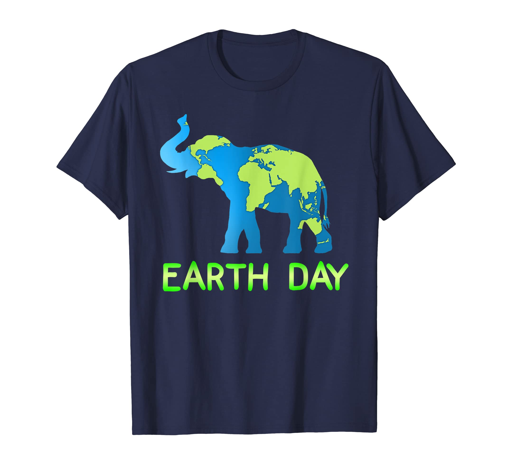 Elephant Earth Day T-shirt For Earthday 2019 Tee-Teehay