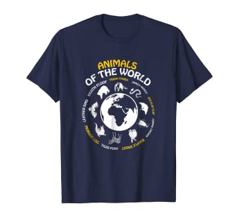 d2dcd7683 Amazon.com: Rare Animals of The World Tshirt Snorg Tees Funny Gift ...