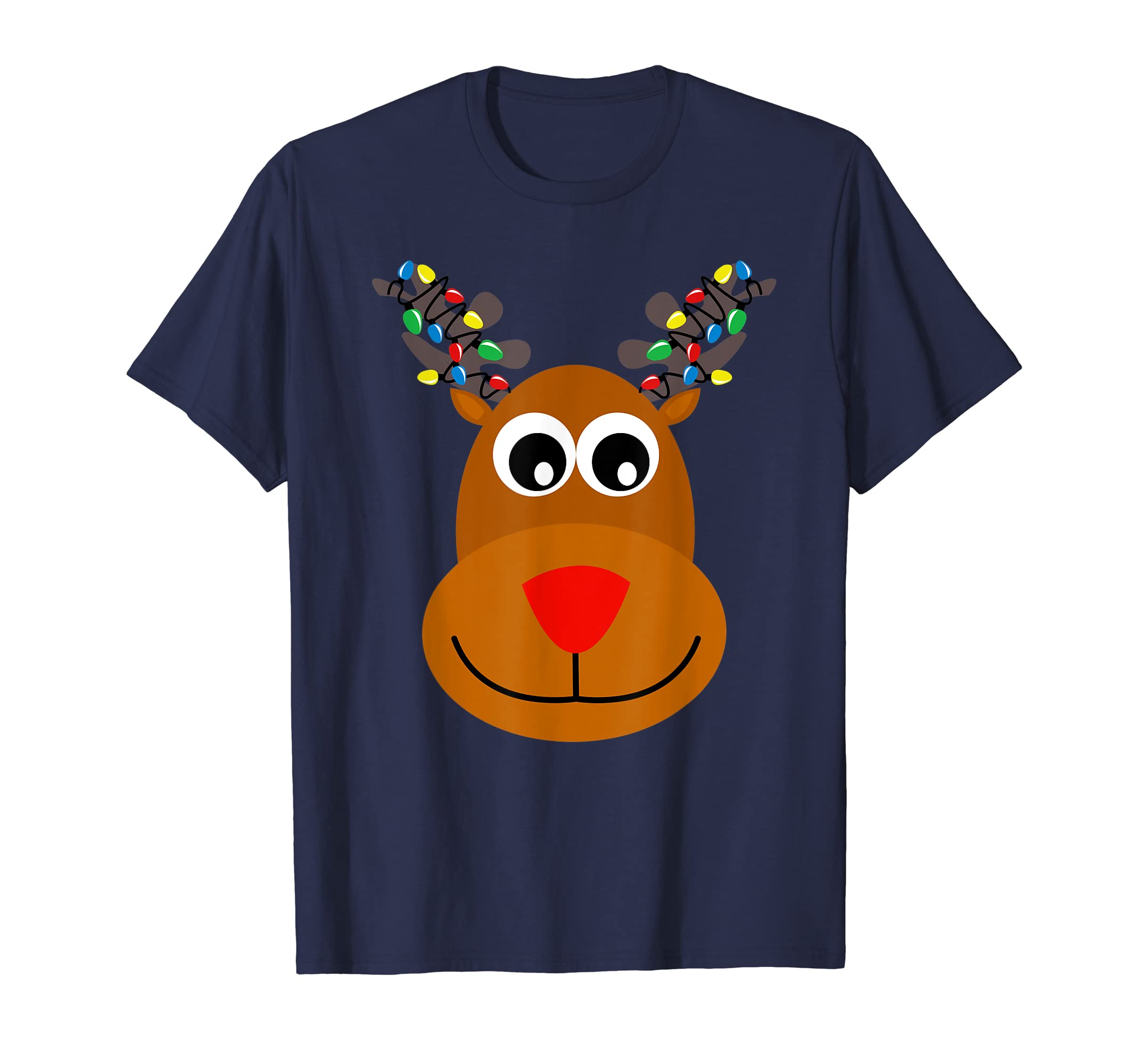 a0986110f Amazon.com  RUDOLPH Red Nose Reindeer T-Shirt