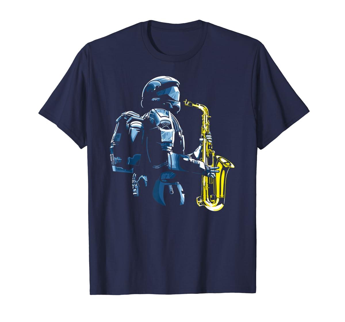 Halo ODST Jazz T-Shirt-Men's T-Shirt-Navy