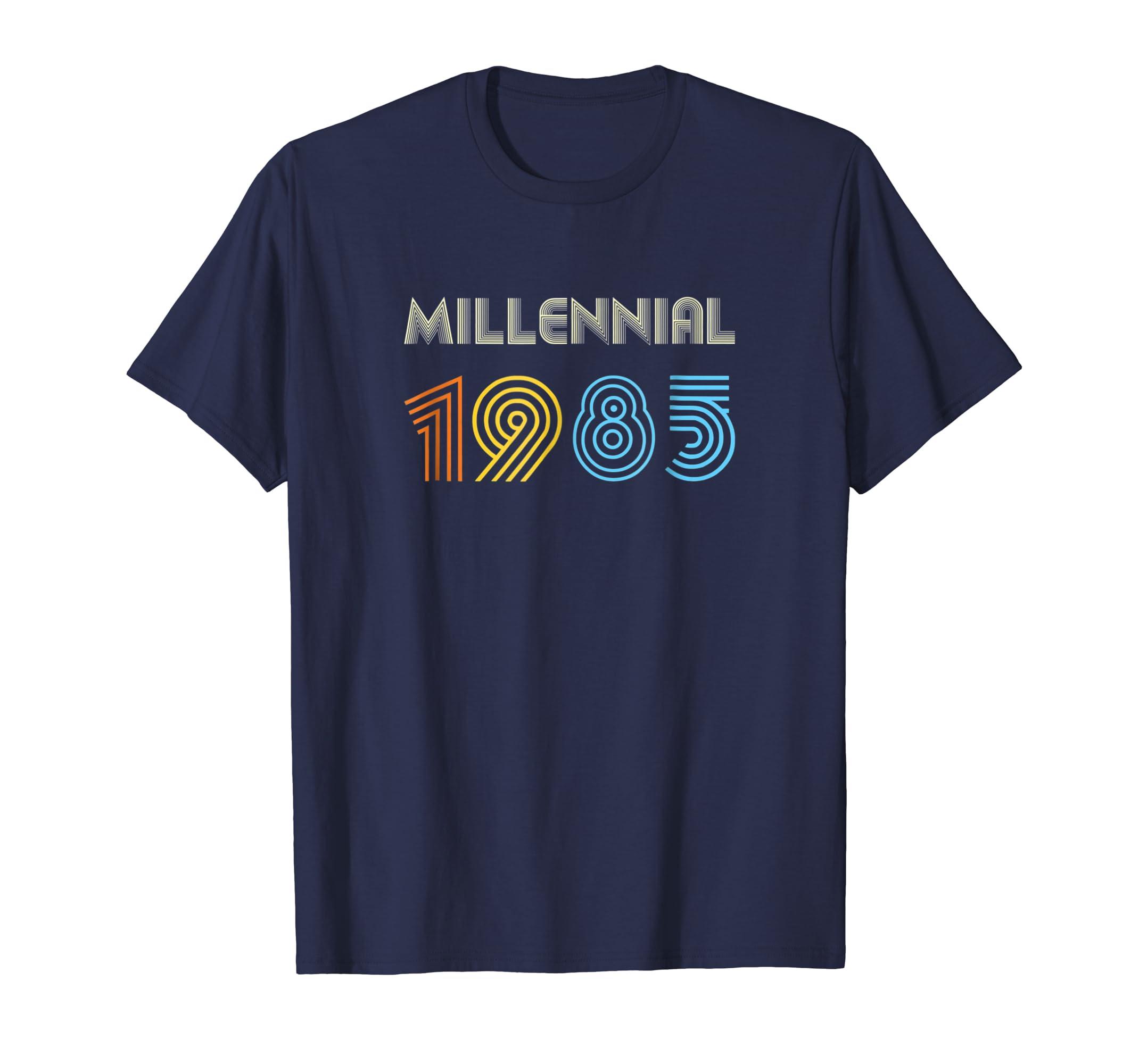 Xeire Millennial Born in 1985 Birthday Gift Shirt-SFL