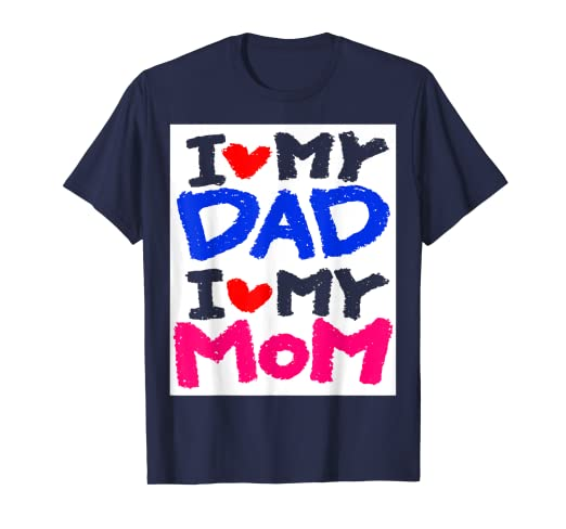 7d3363e05 Amazon.com: USA dad and mom,2019,Love, cut tshirt, cool,gift for dad ...