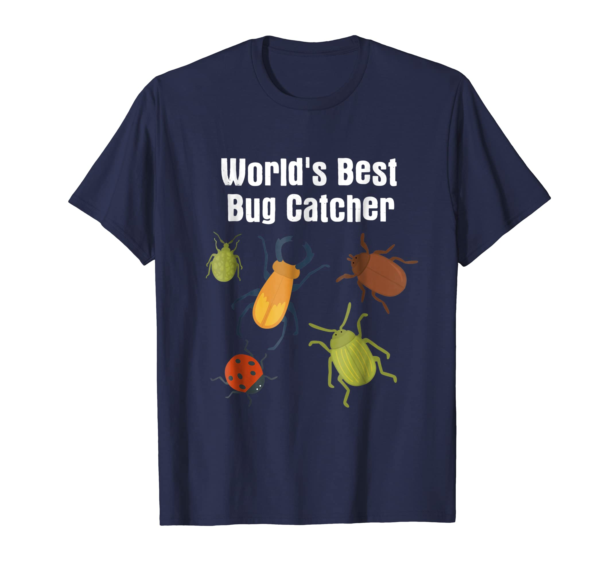 Best Bug Catcher Insect Lover Ladybug Beetle Gift T Shirt-ANZ