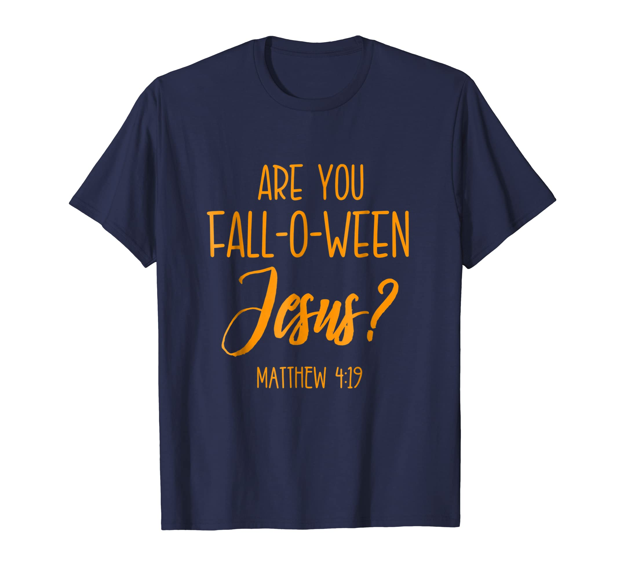 Christian Halloween Shirt Jesus Church Cross Bible Verse