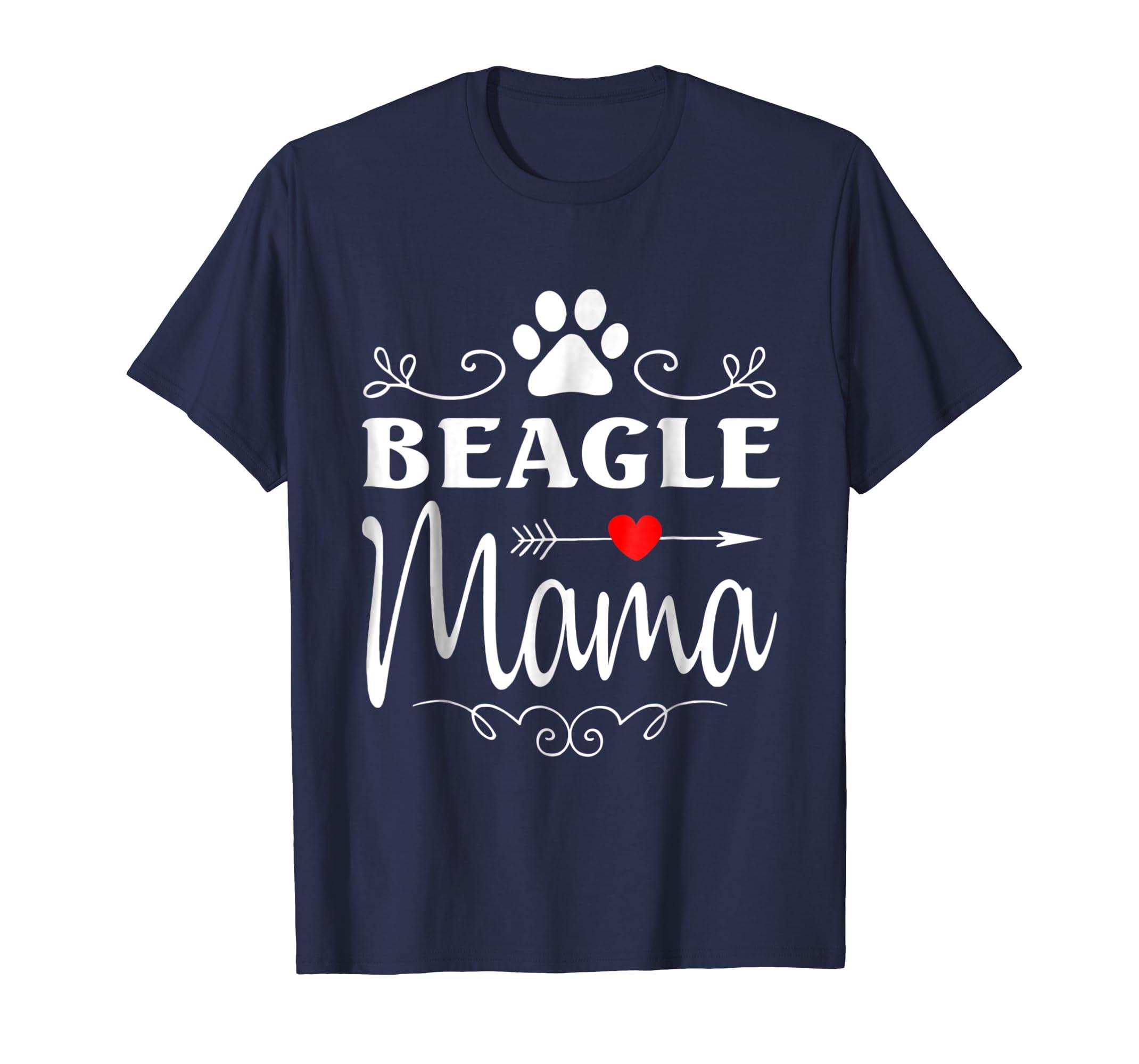 Beagle Mama, Beagle Dog Mom, Best Beagle Ever T shirt-azvn