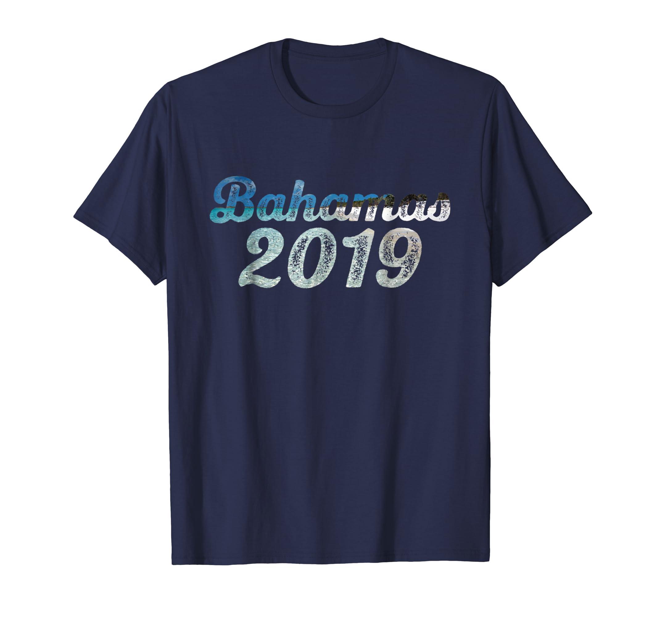 Bahamas 2019 T Shirt Vacation Beach Travel Bahama Gift Tee-azvn