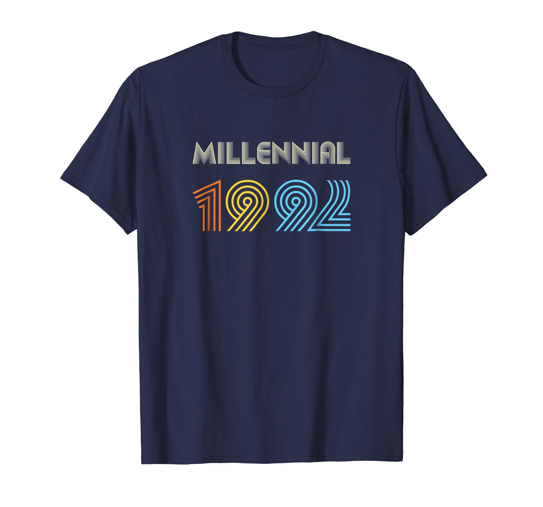 Xeire Millennial Born in 1992 Birthday Gift Shirt-SFL