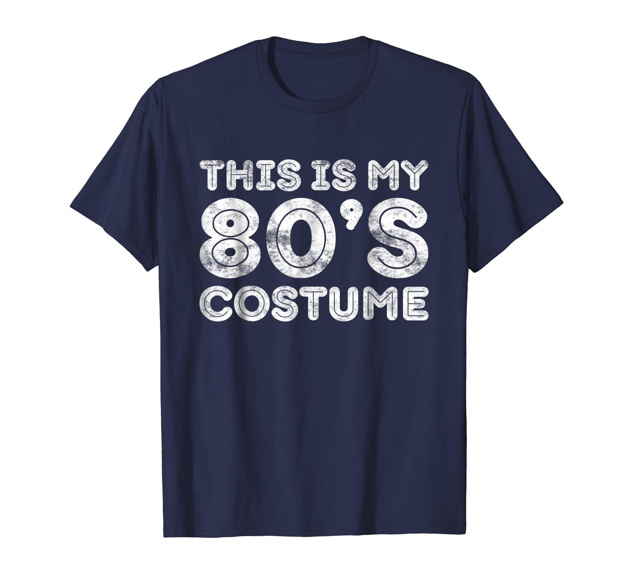 This Is My 80s Costume T Shirt 80'S Party Shirt-Bawle
