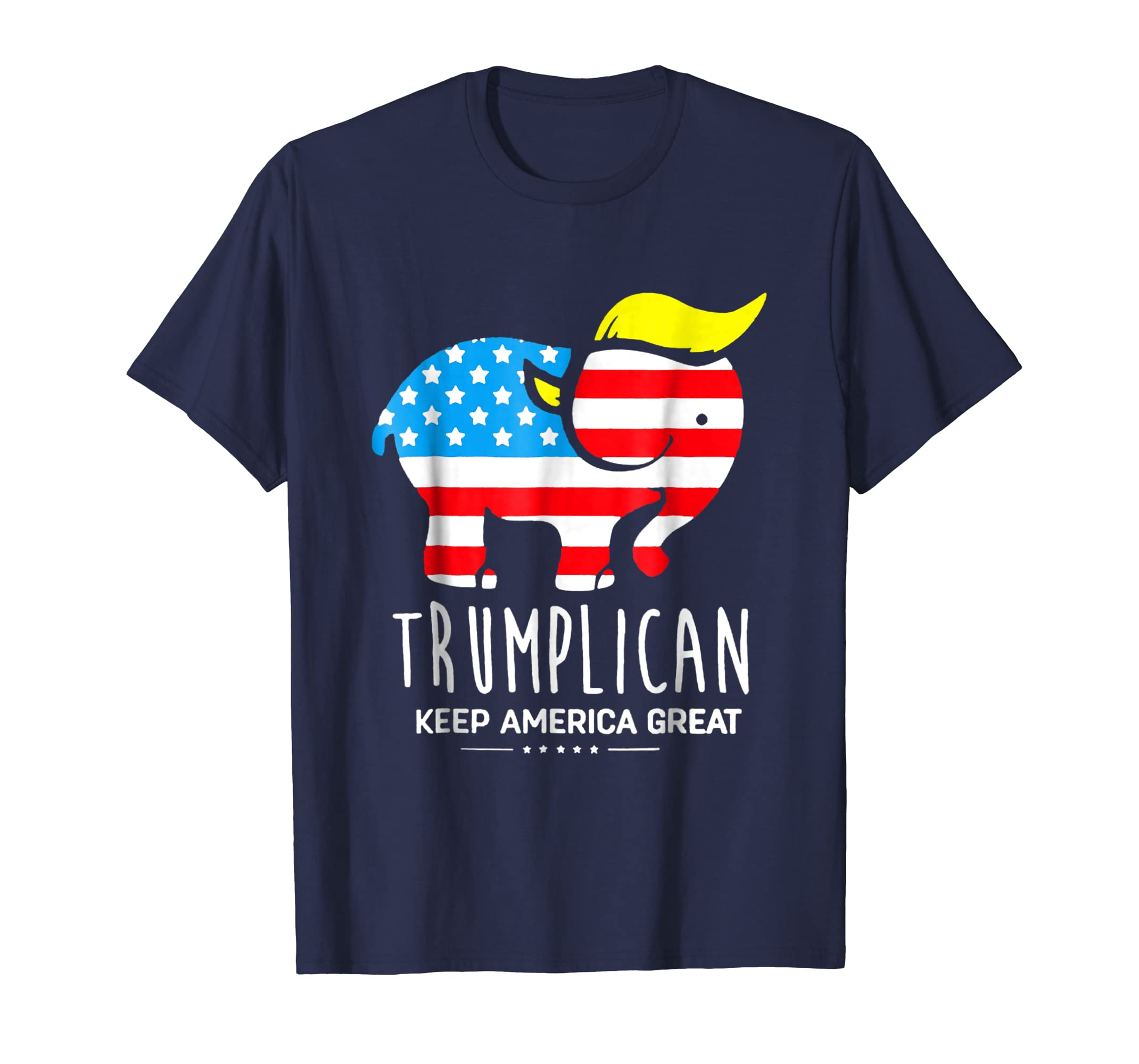 Trumplican Keep America Great T shirt-azvn