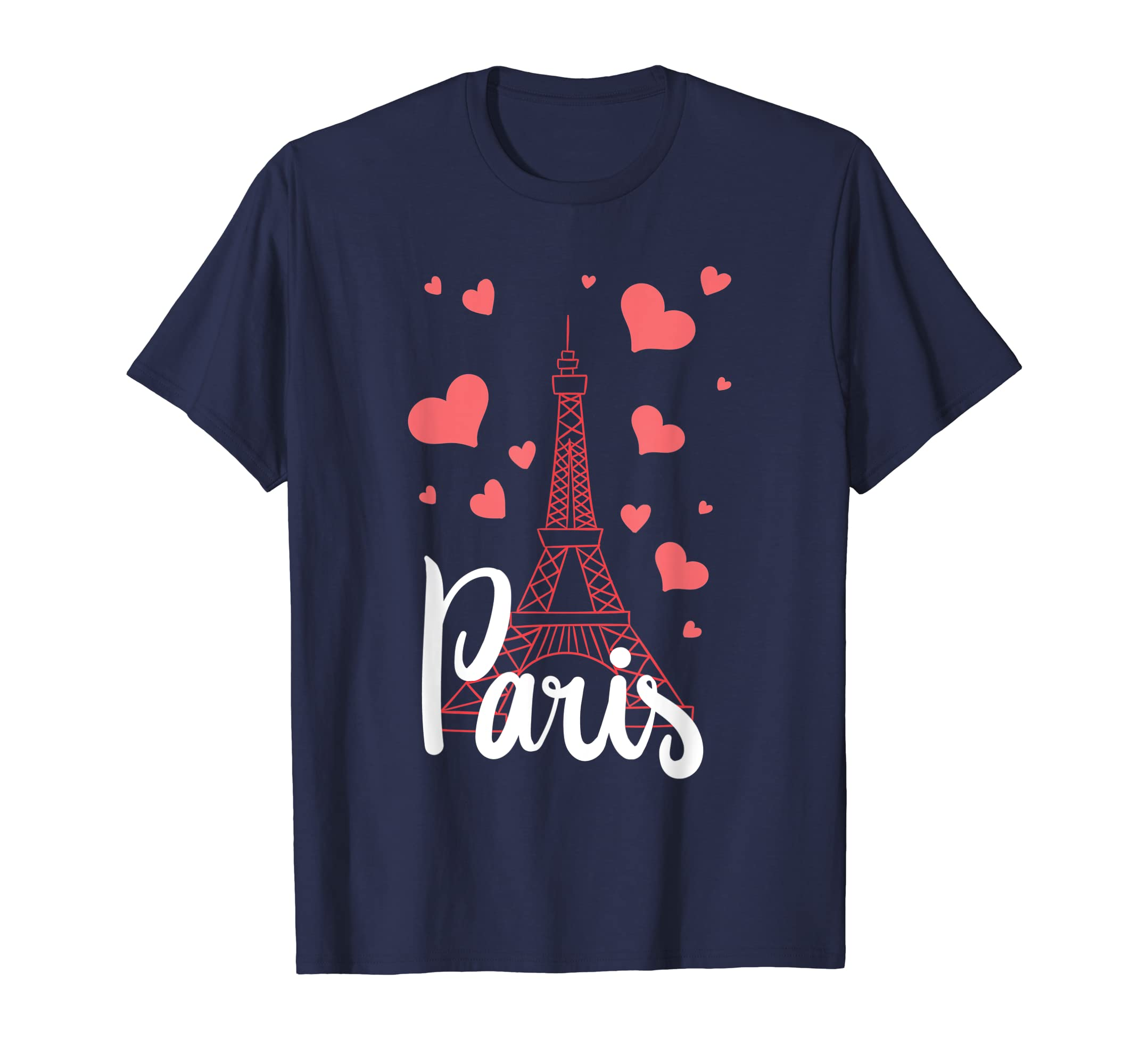 I Love Paris T-Shirt France Eiffel Tower Gift-Loveshirt