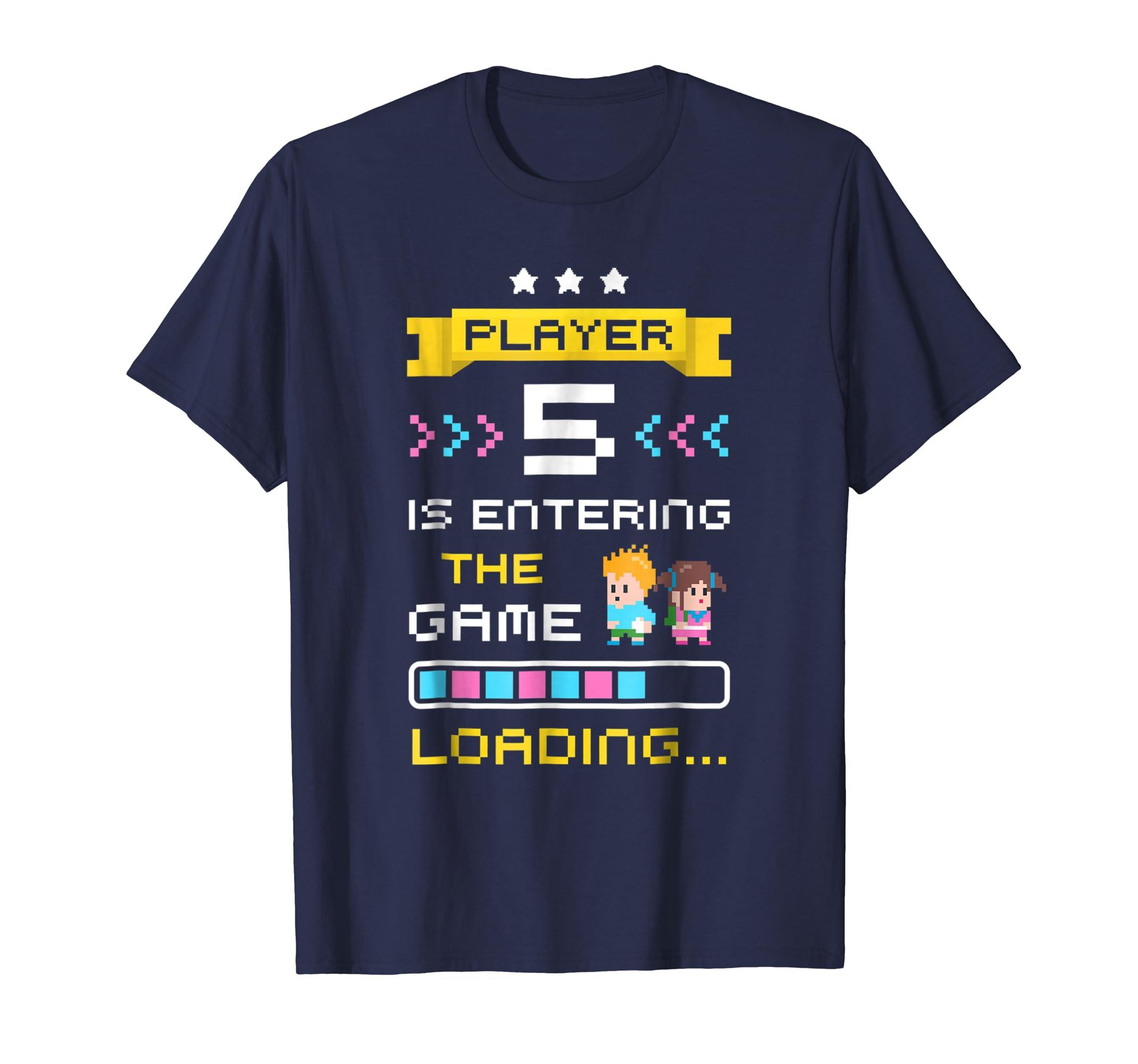3rd Time Gamer Dad Mom Pregnancy Announcement Shirt Player 5-ln