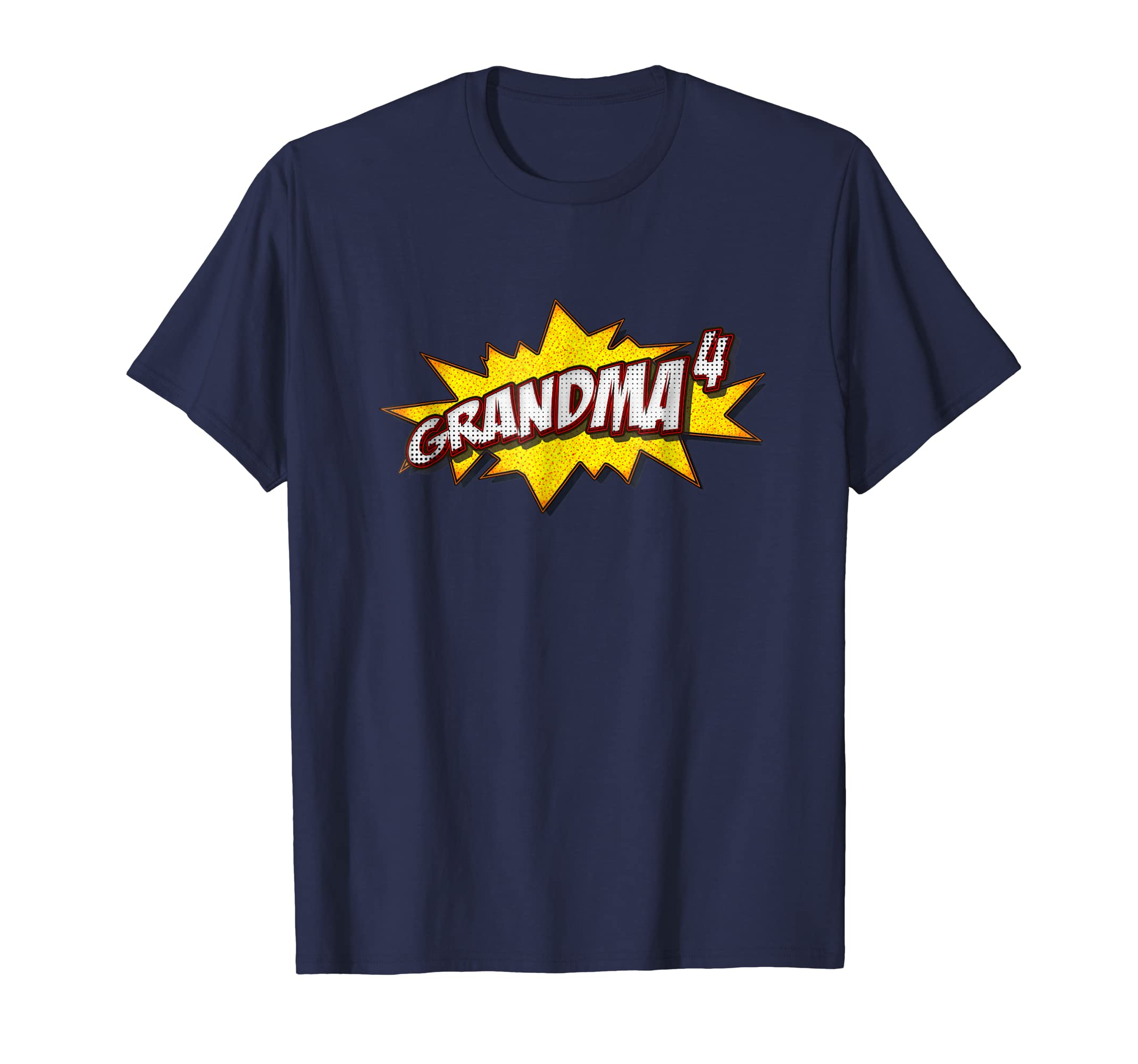 Retro Grandma Of 4 Shirt Quadruplets Grandma Gifts-anz