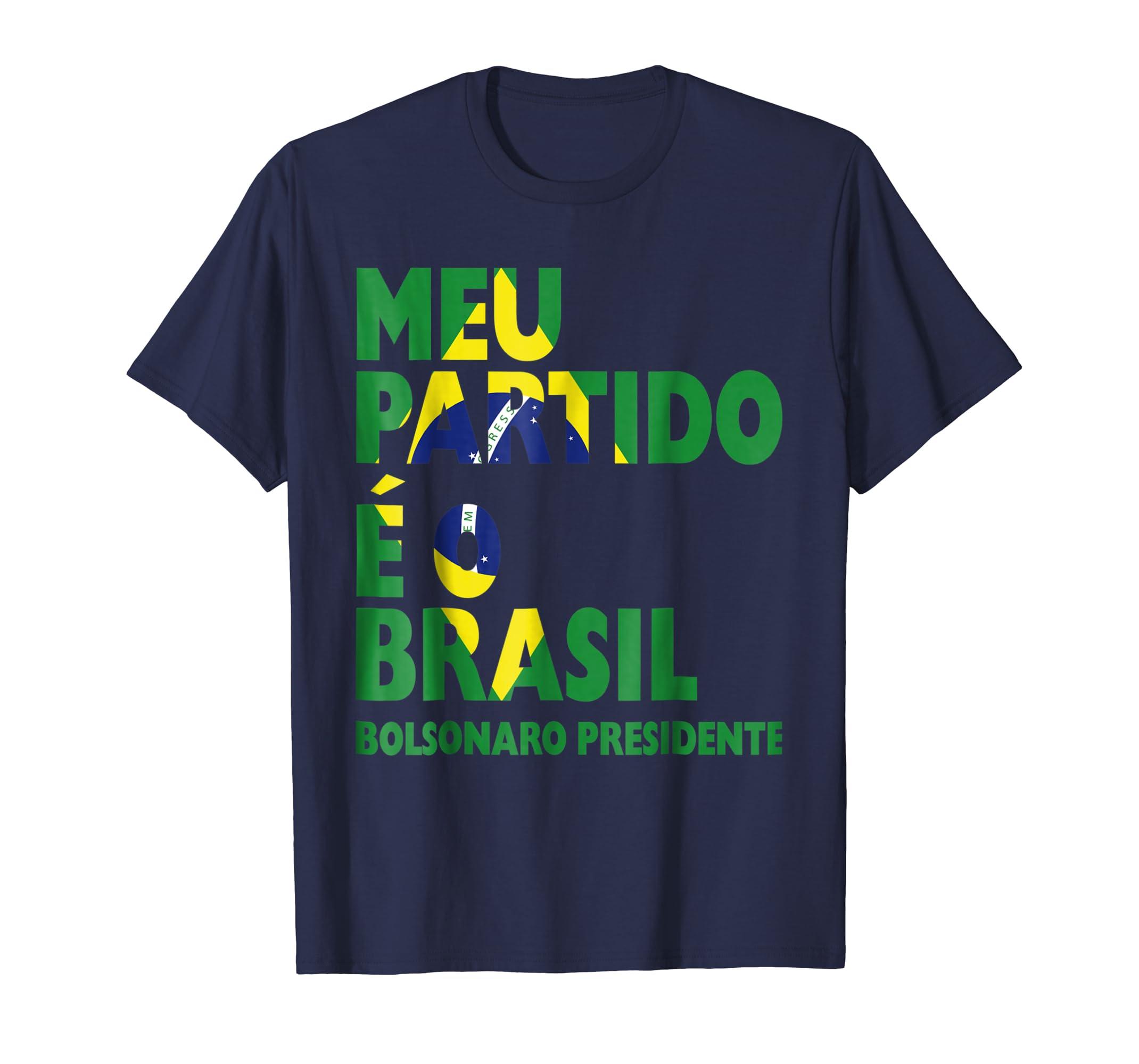 Bolsonaro Presidente 2018 TShirt Camiseta Brazilian Election-ln