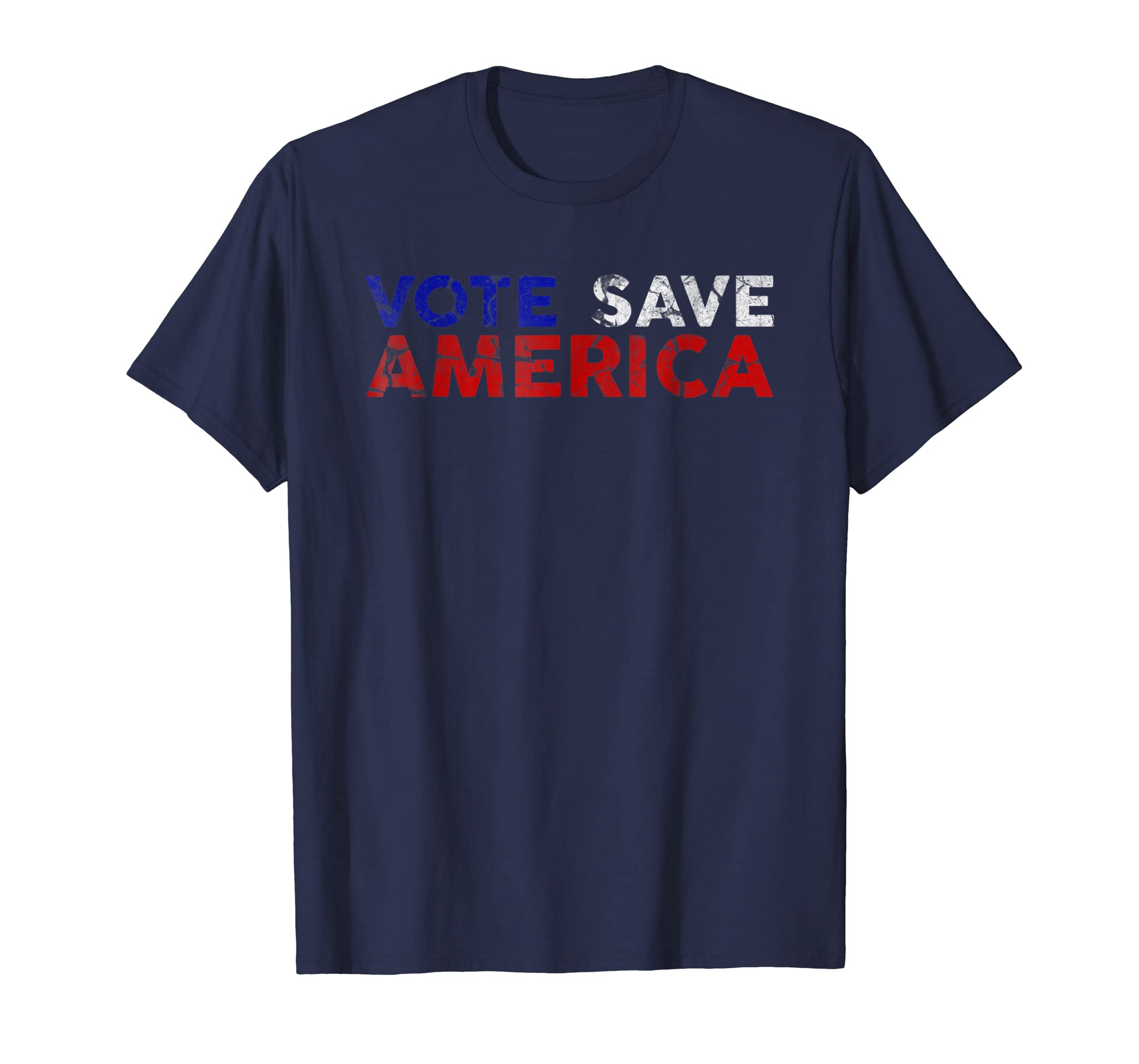 2018 Vote Midterm Blue Wave Vote Save America Tshirt-azvn