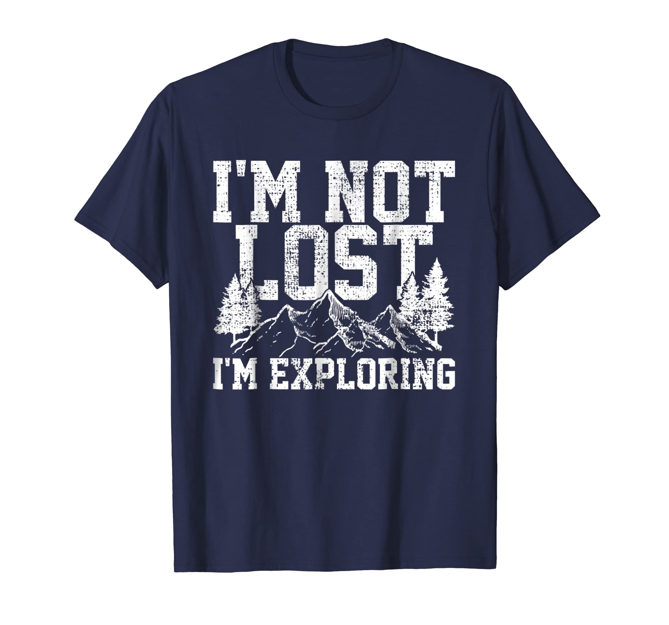 Hike T Shirt Hiking Tshirt Nature Tee Lost Explorer Gift-azvn