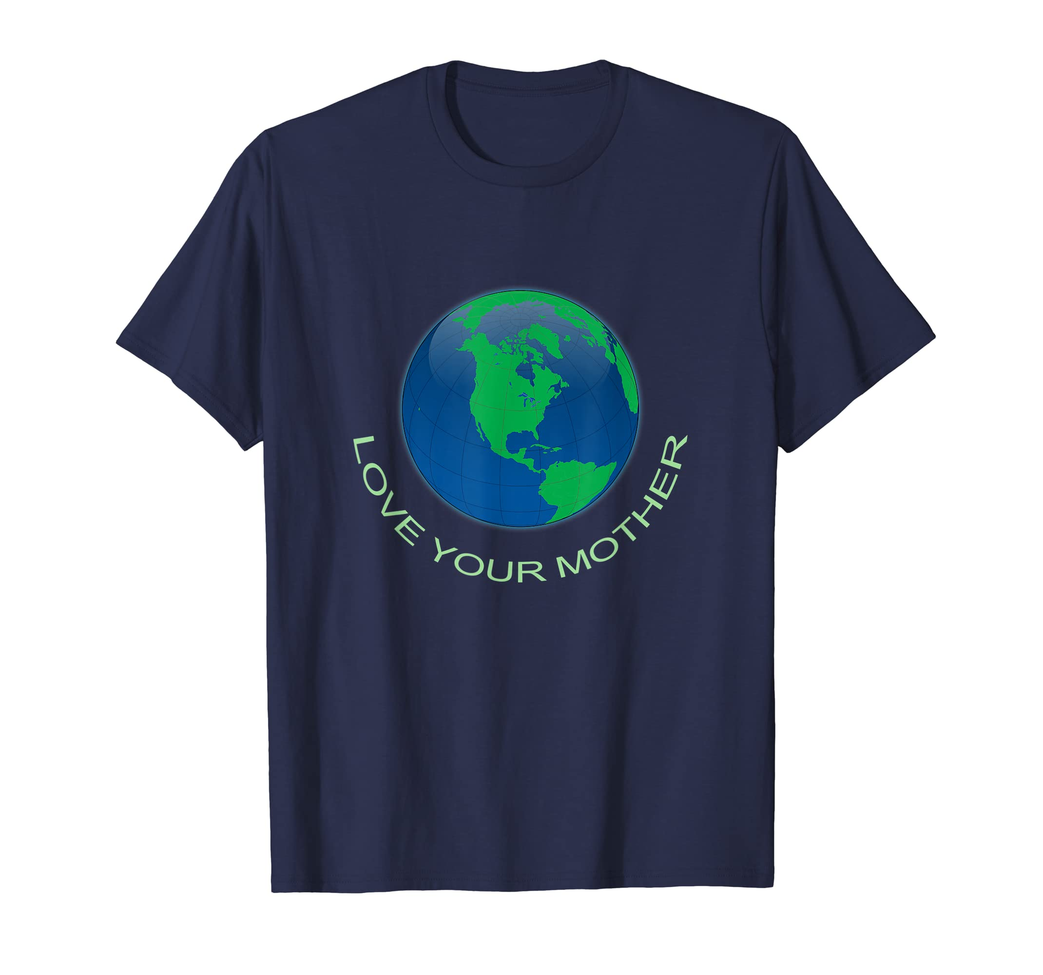Funny Earth Day Shirt Love Your Mother Sustainability Tshirt-ANZ