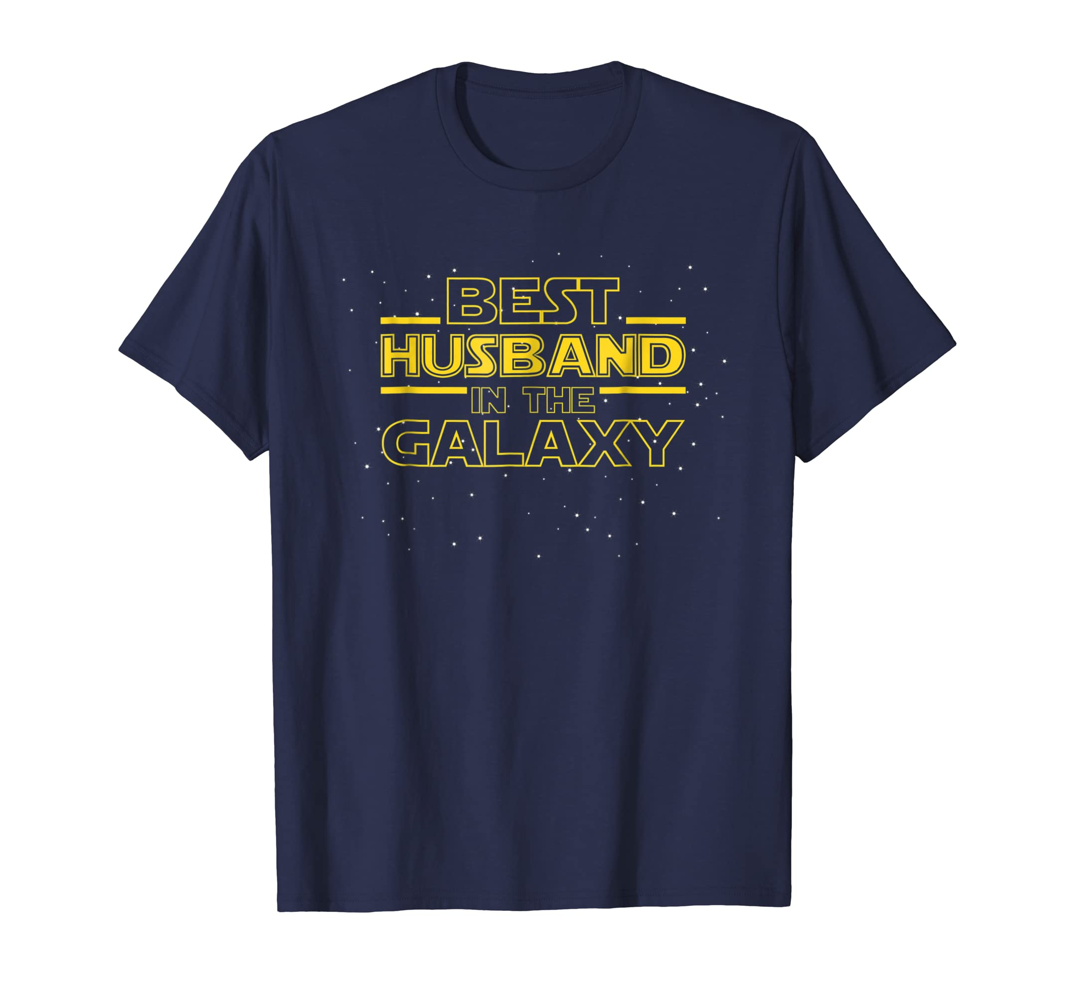 Mens Best Husband in the Galaxy, Funny Husband T Shirt Gift-azvn