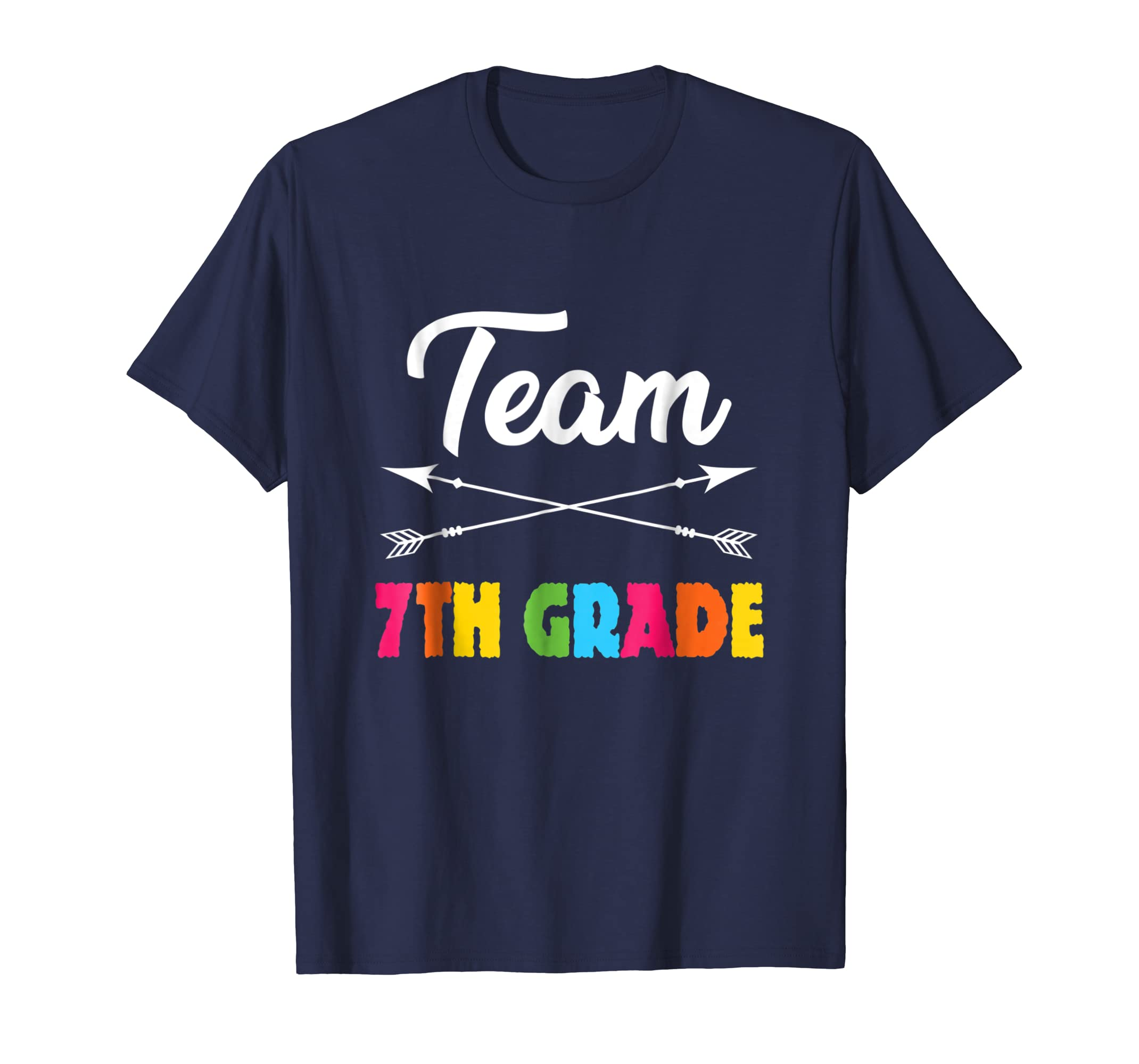7th Seventh Grade Teacher Team Shirt Back to School Gift
