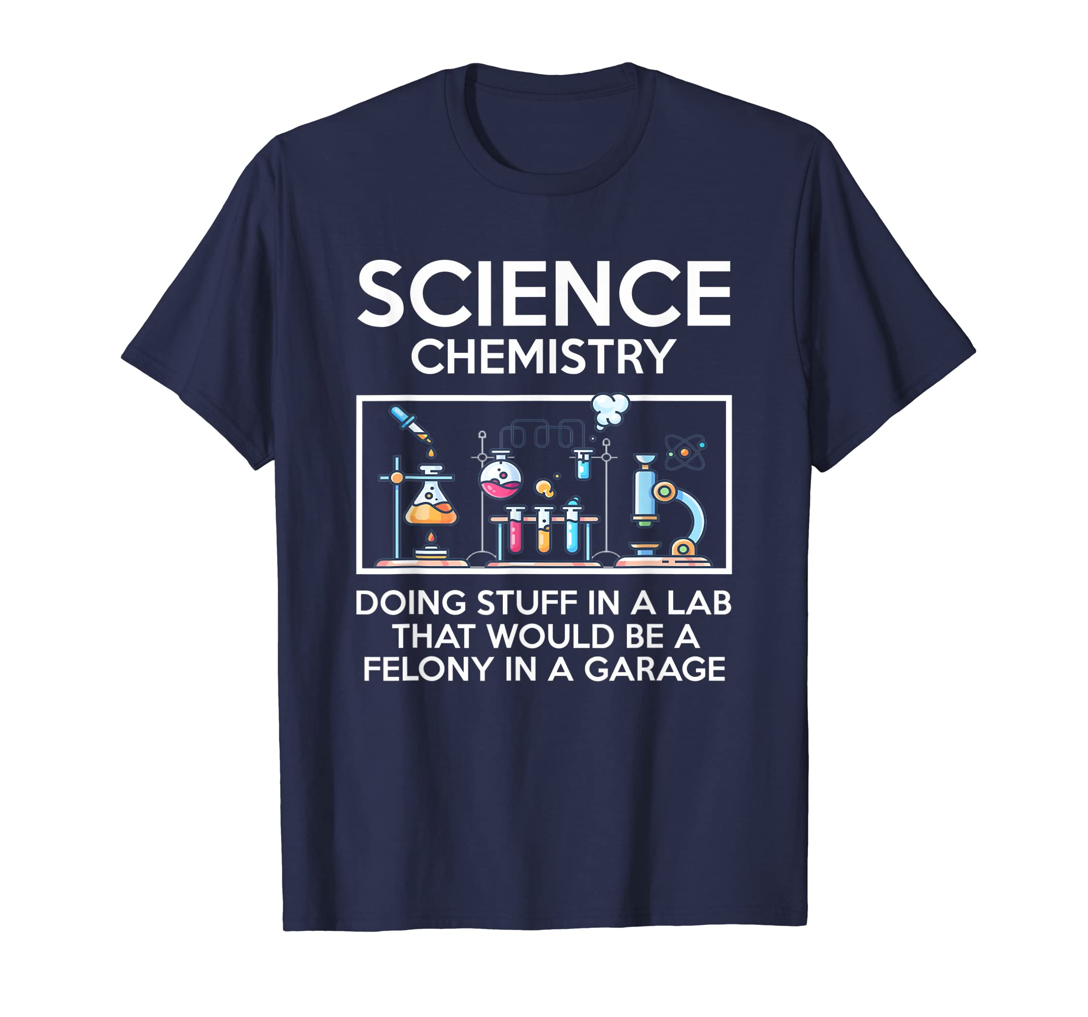 Funny Science Chemistry T Shirt for Nerds-ANZ